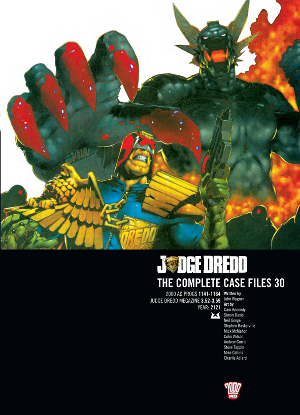 Judge Dredd: The Complete Case Files 30