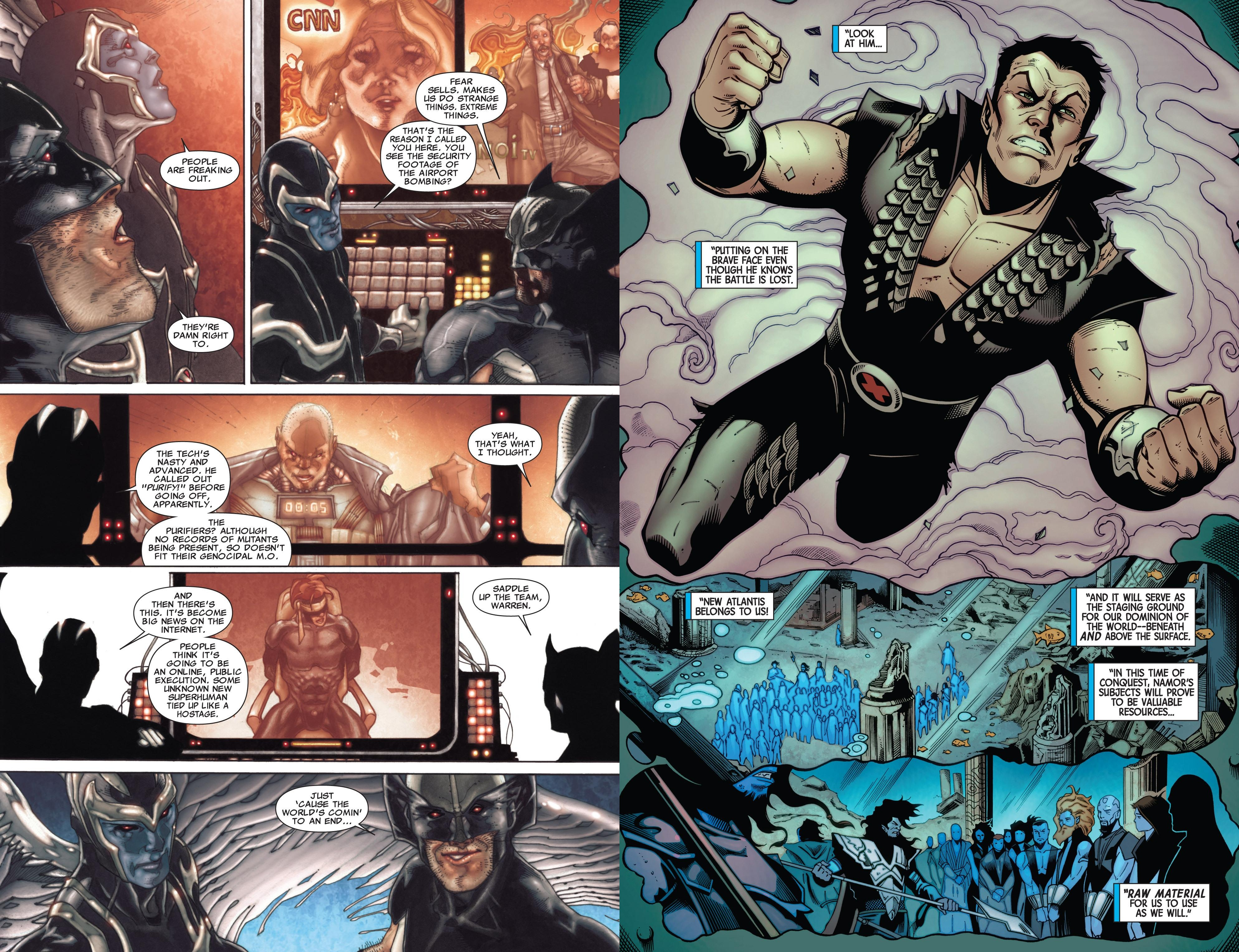 Fear Itself - Uncanny X-Force The Deep review
