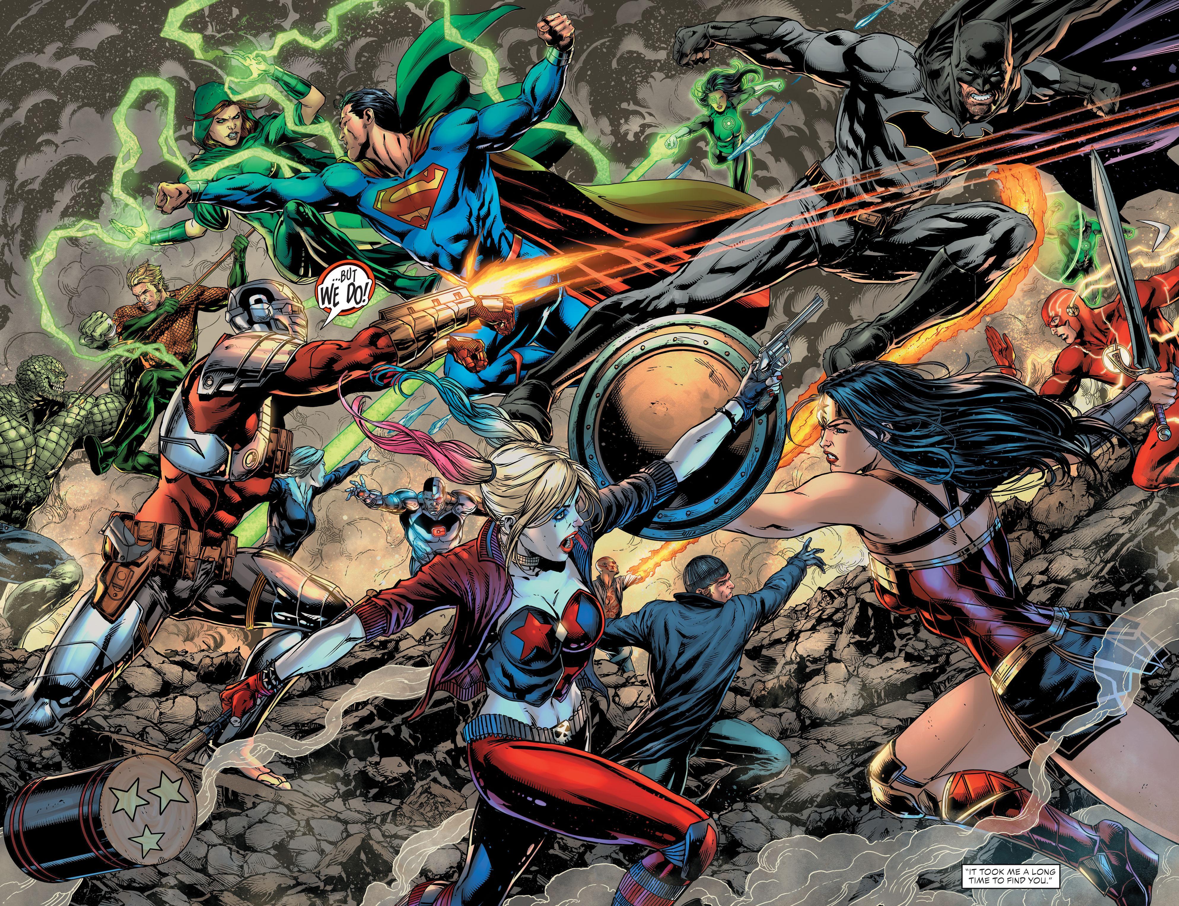 Justice League vs. Suicide Squad review