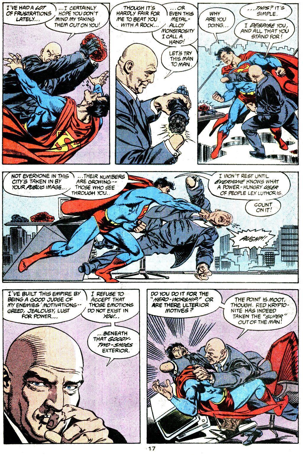 Superman Krisis of the Krimson Kryptonite review