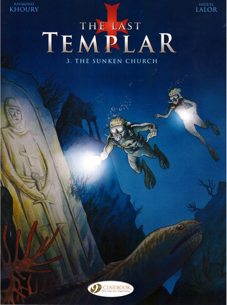The Last Templar: 3. The Sunken Church