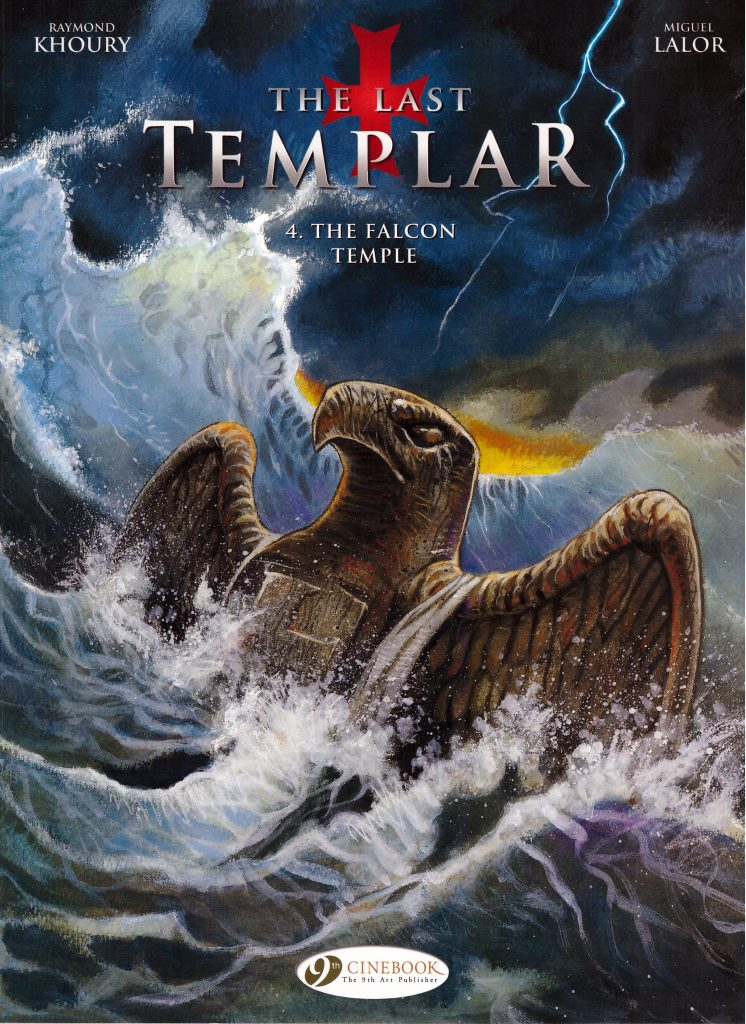 The Last Templar 4: The Falcon Temple