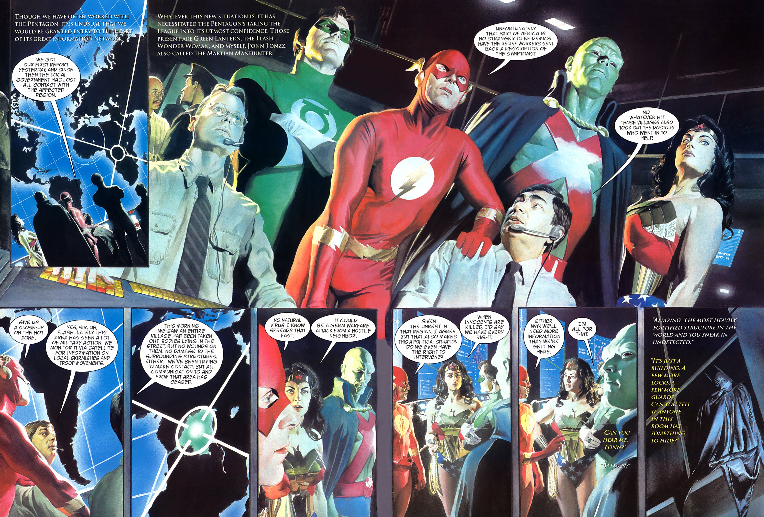 JLA Liberty and Justice review