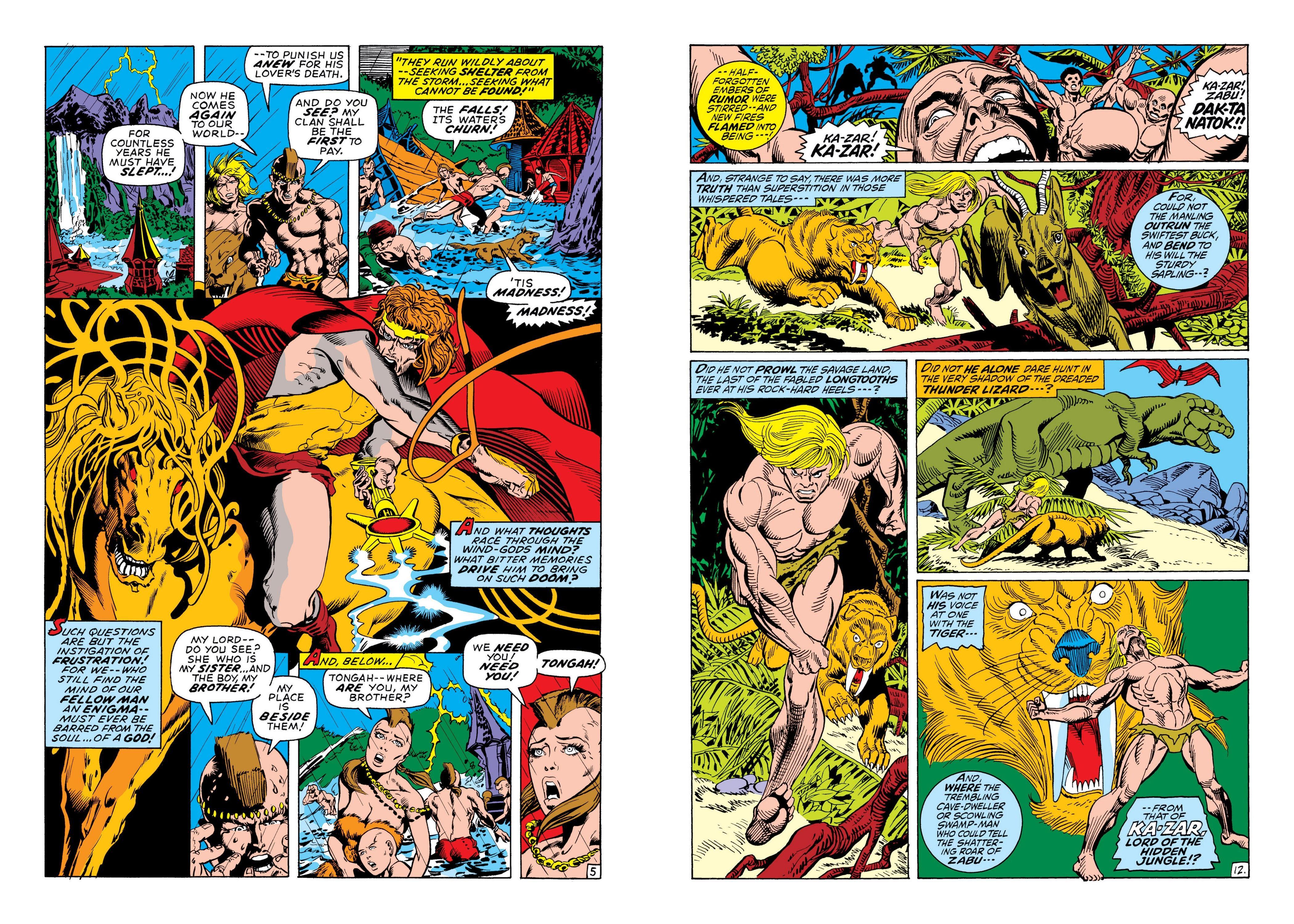 Marvel Masterworks Ka-Zar V1 review