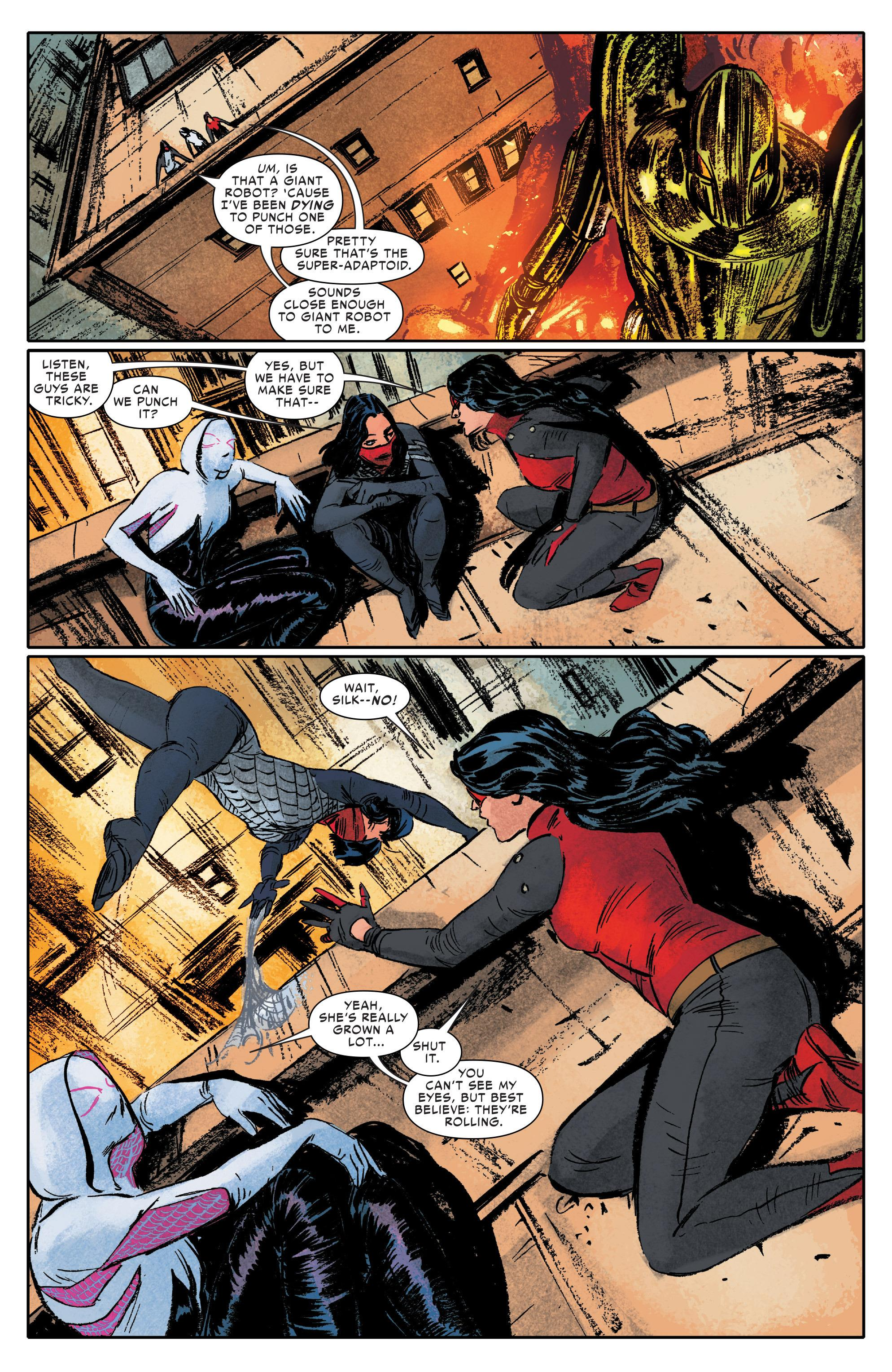 Spider-Women graphic novel review
