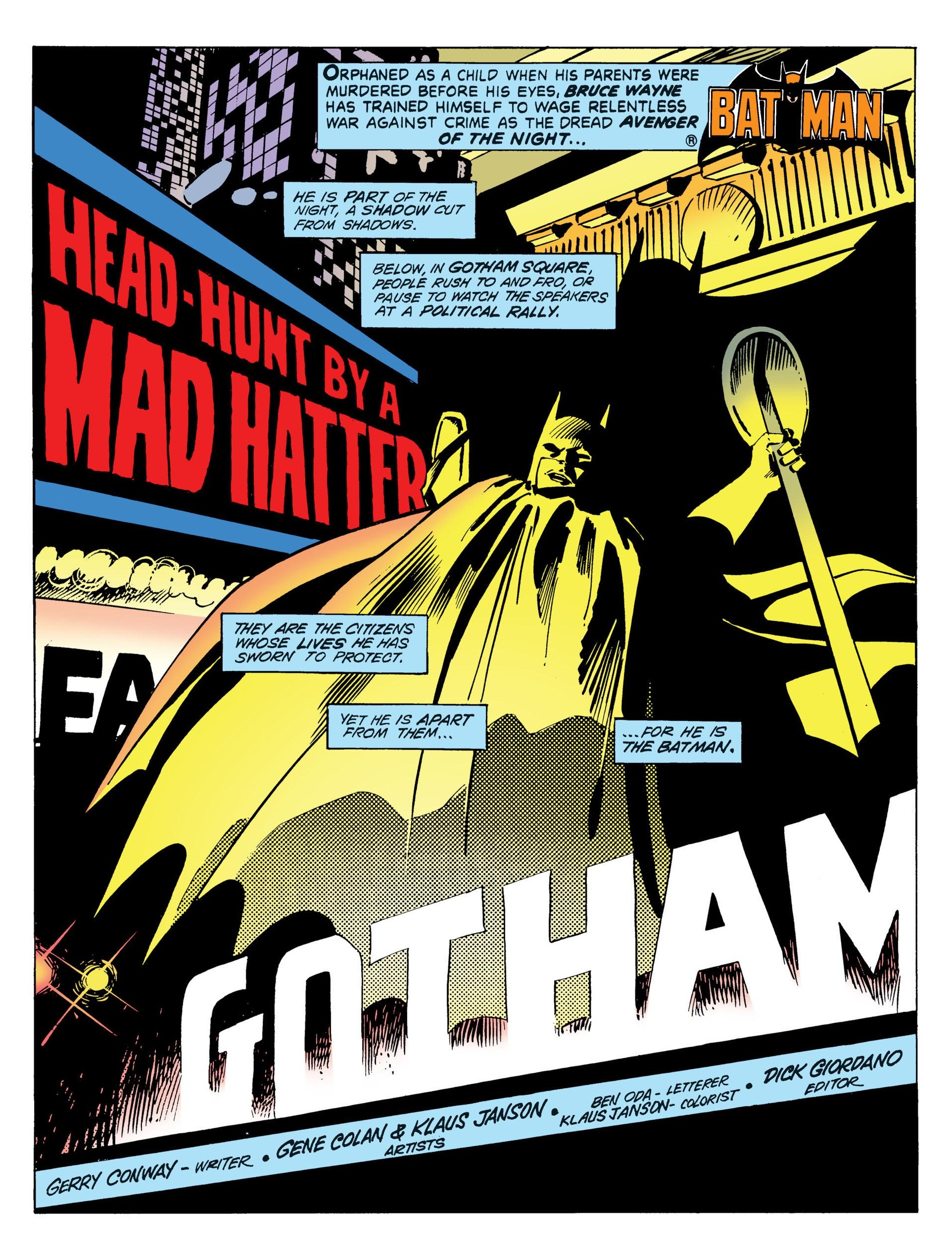 Tales of the Batman - Gene Colan V1 review