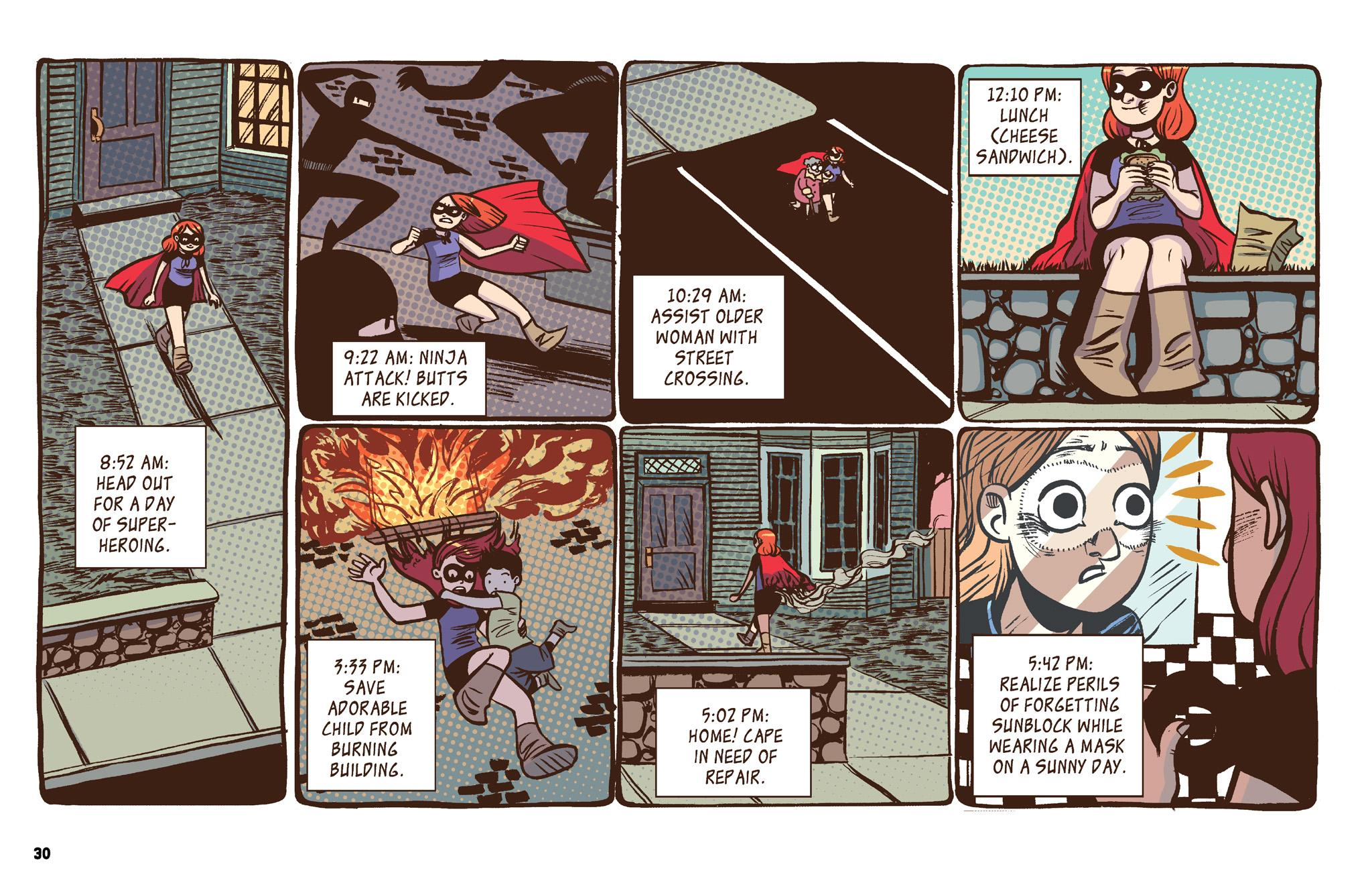The Adventures of Superhero Girl review
