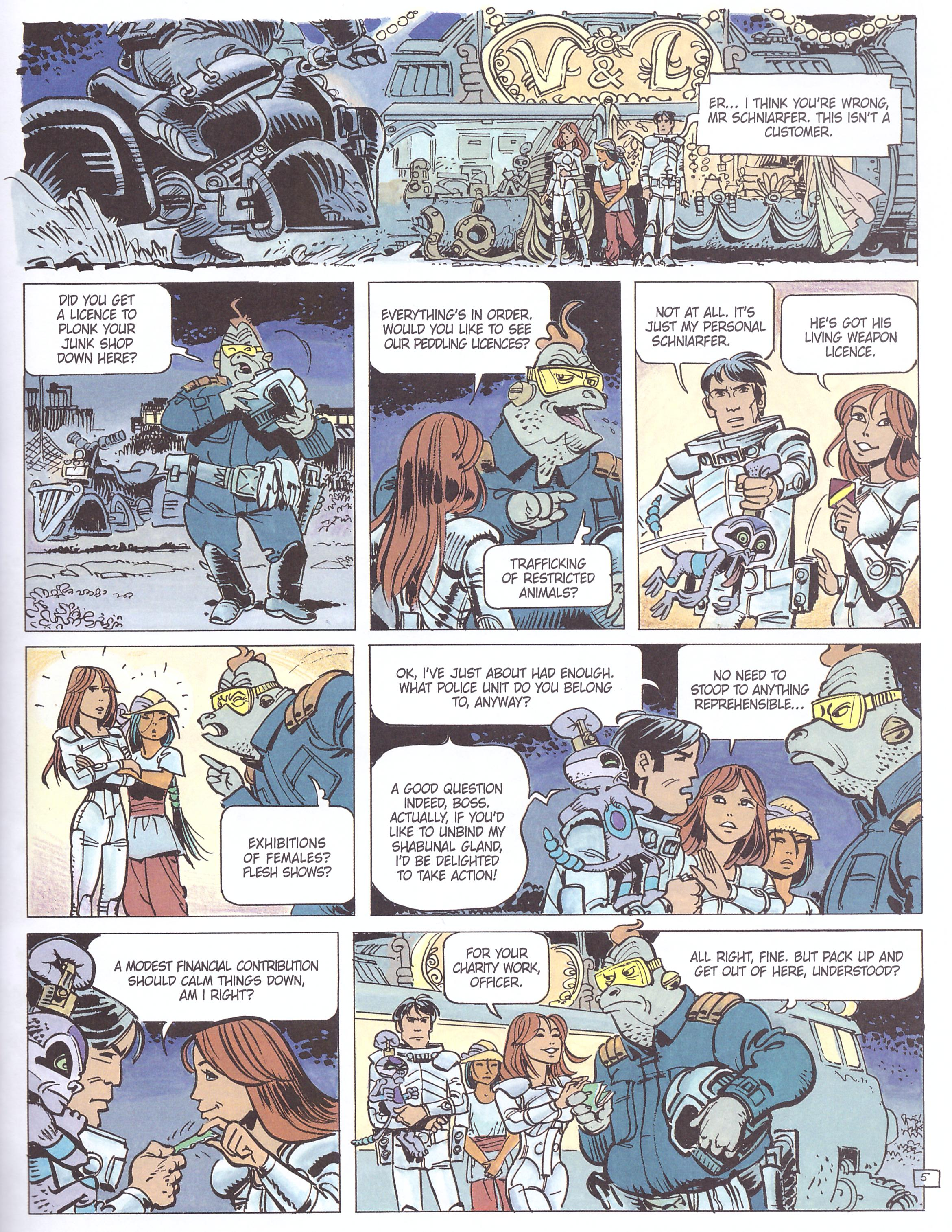 Valerian and Laureline At the Edge of the Great Void review