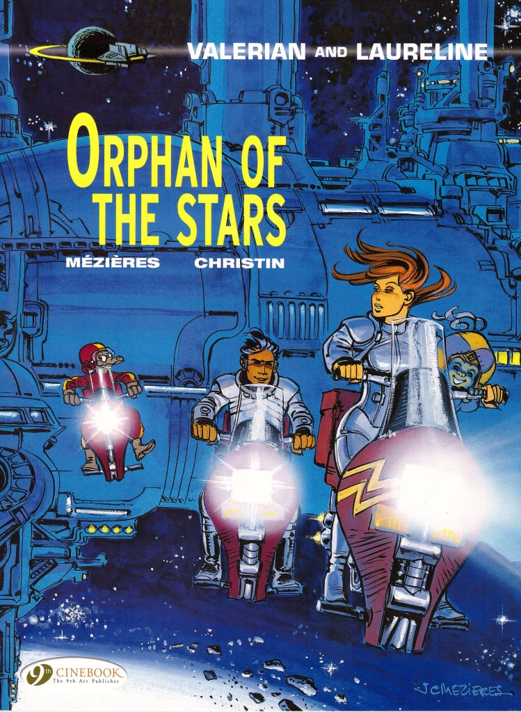 Valerian and Laureline: Orphan of the Stars