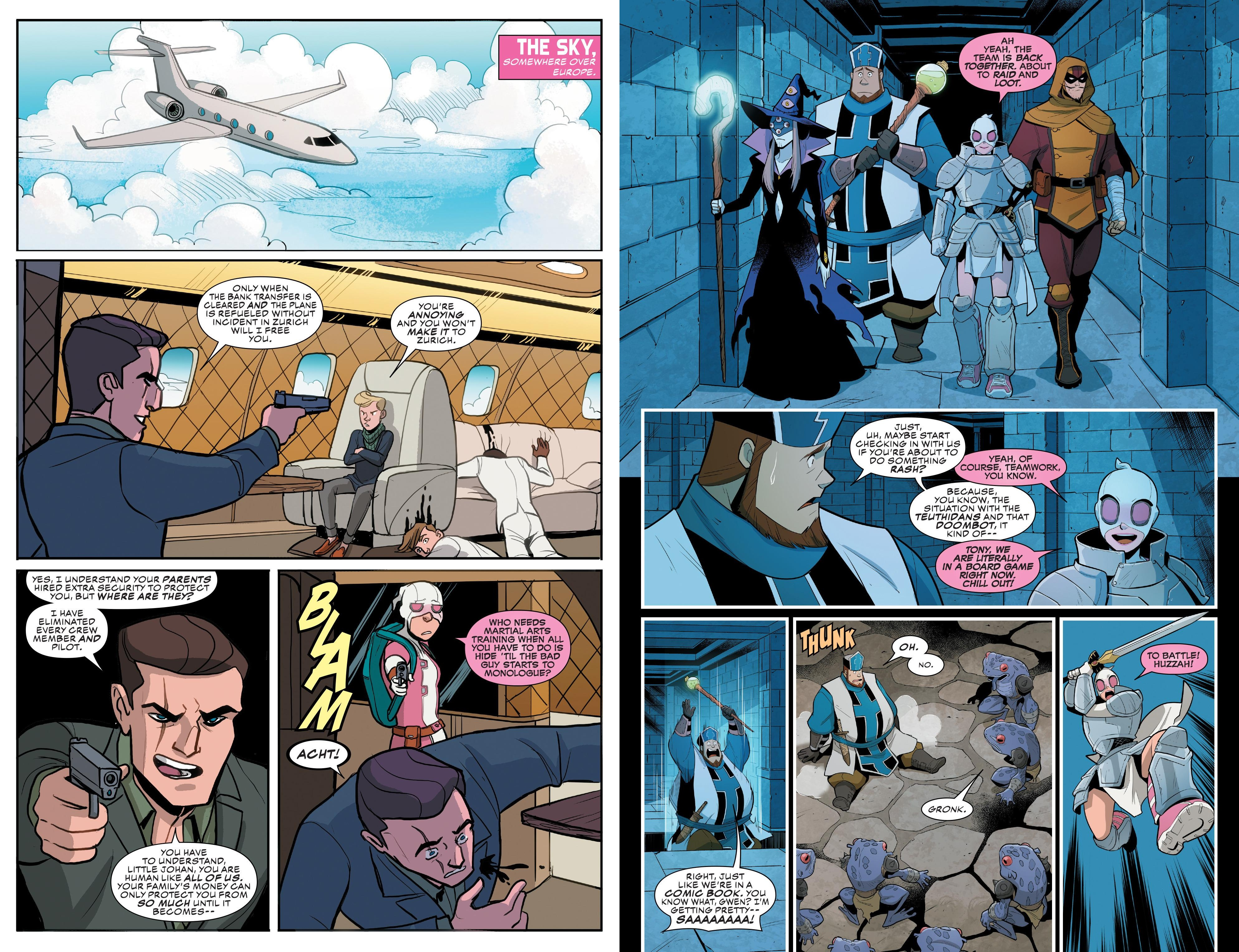 Gwenpool V3 Totally in Continuity review