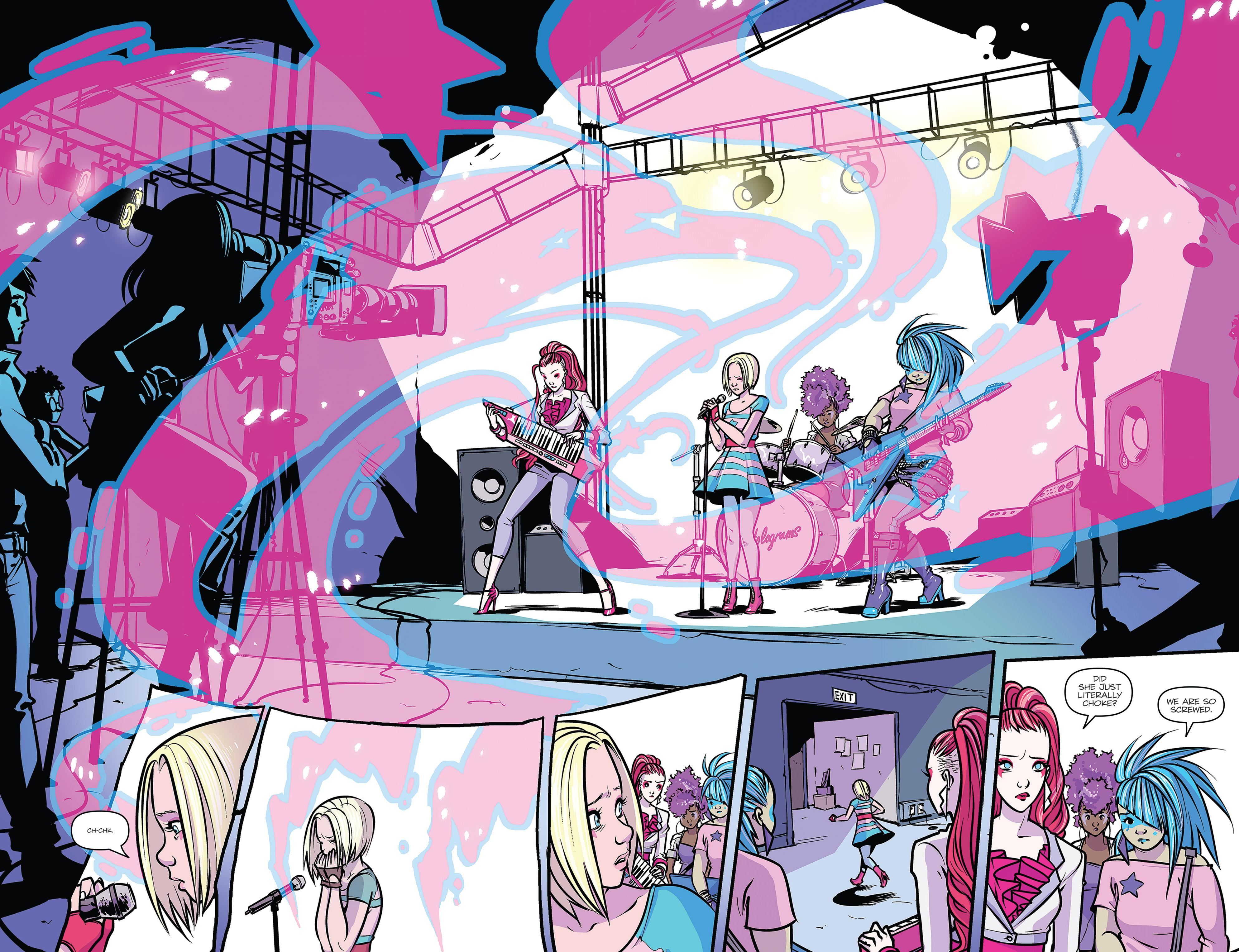 Jem and the Holograms Showtime review