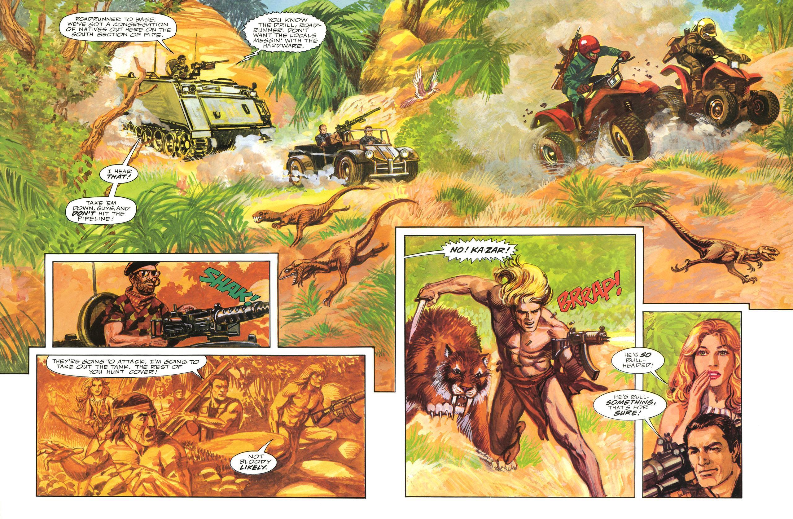 Ka-Zar Guns of the Savage Land review