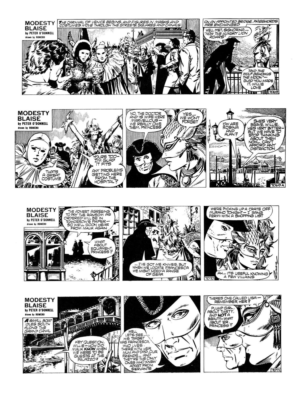 Modesty Blaise Live Bait review