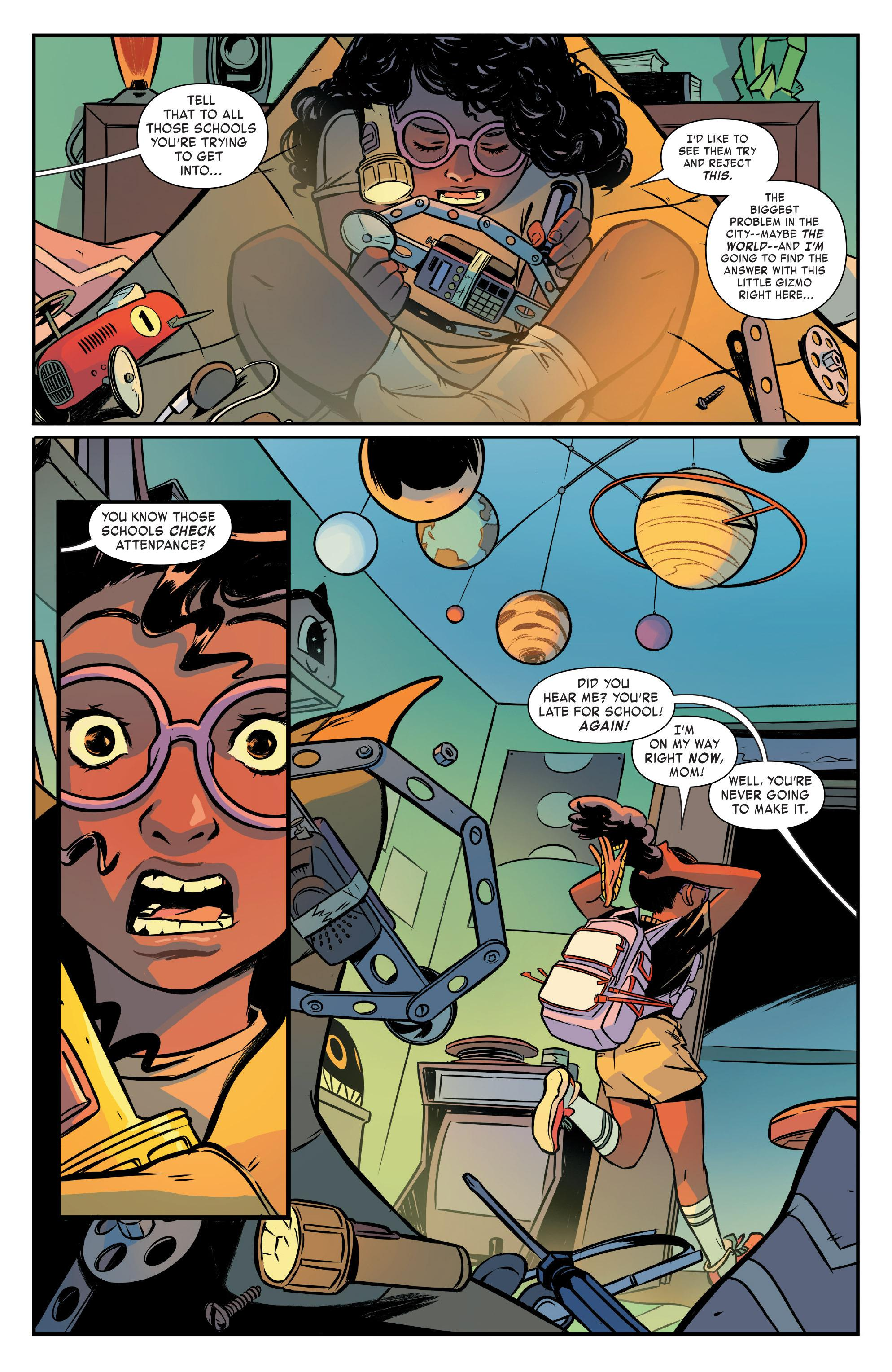 Moon Girl and Devil Dinosaur BFF review