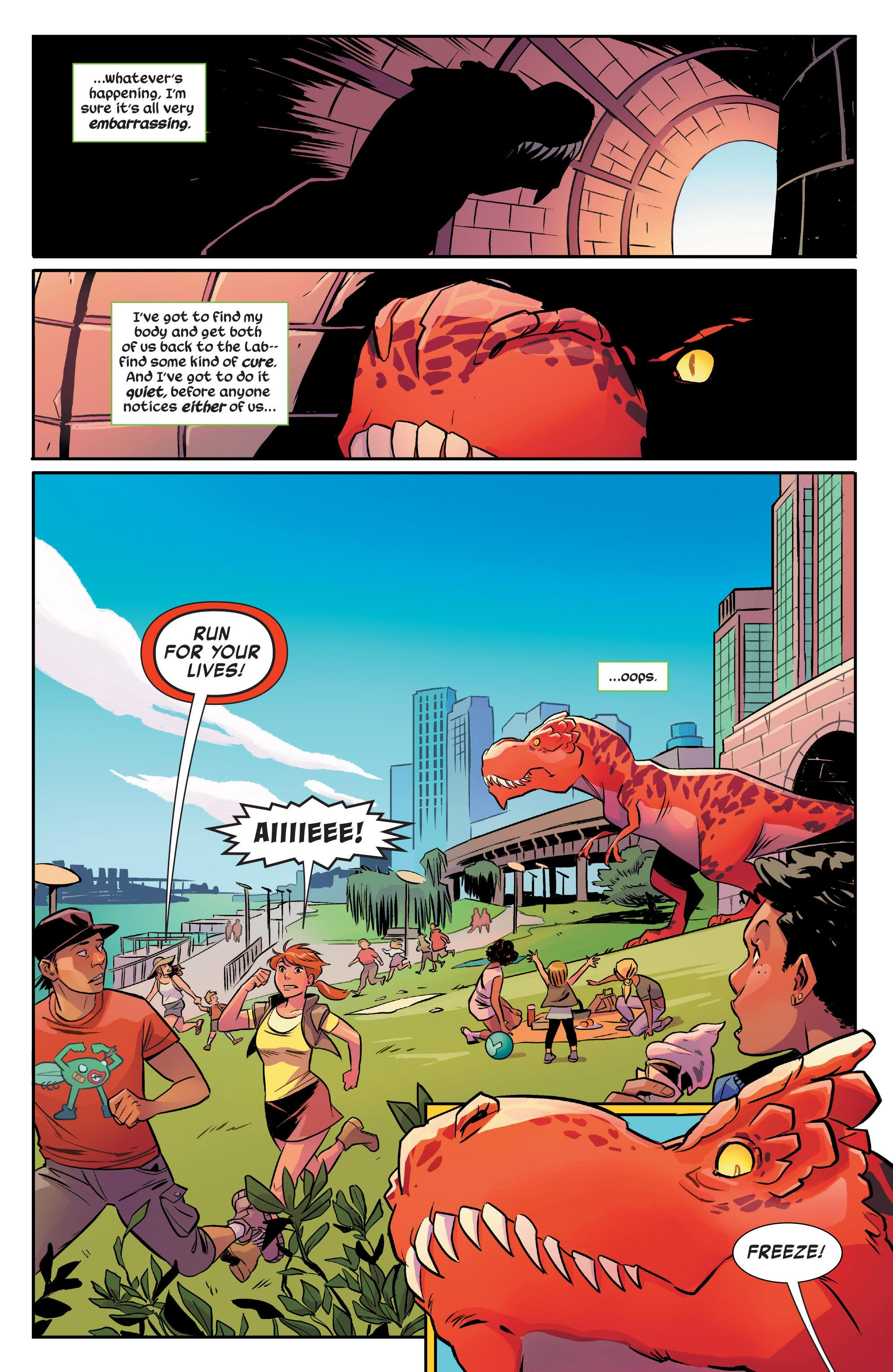 Moon Girl and Devil Dinosaur Cosmic Cooties review