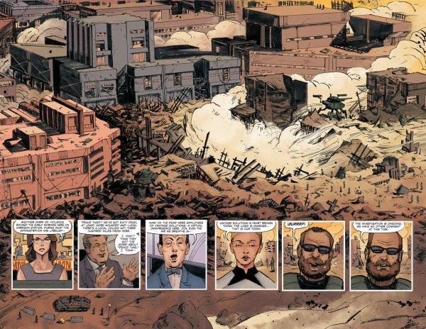 Redline graphic novel review