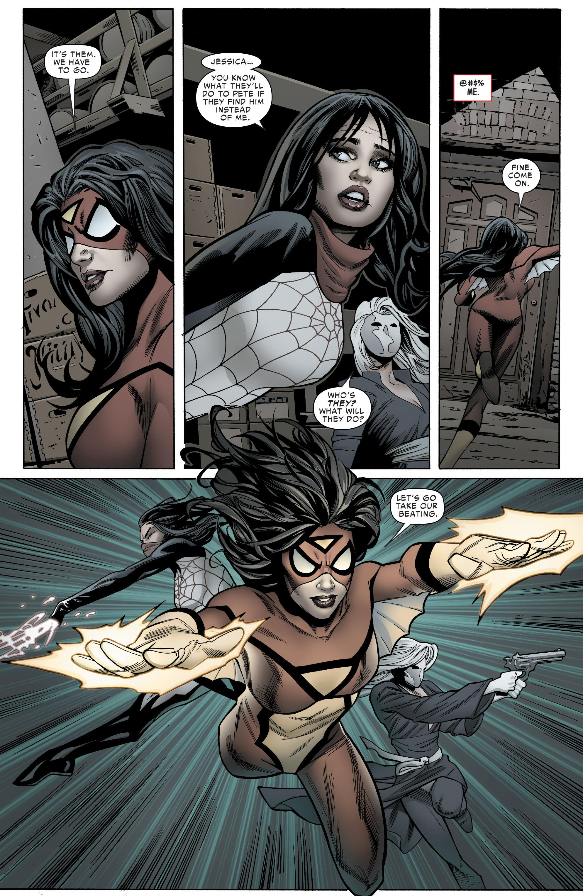 Spider-Woman V1 Spider-Verse review