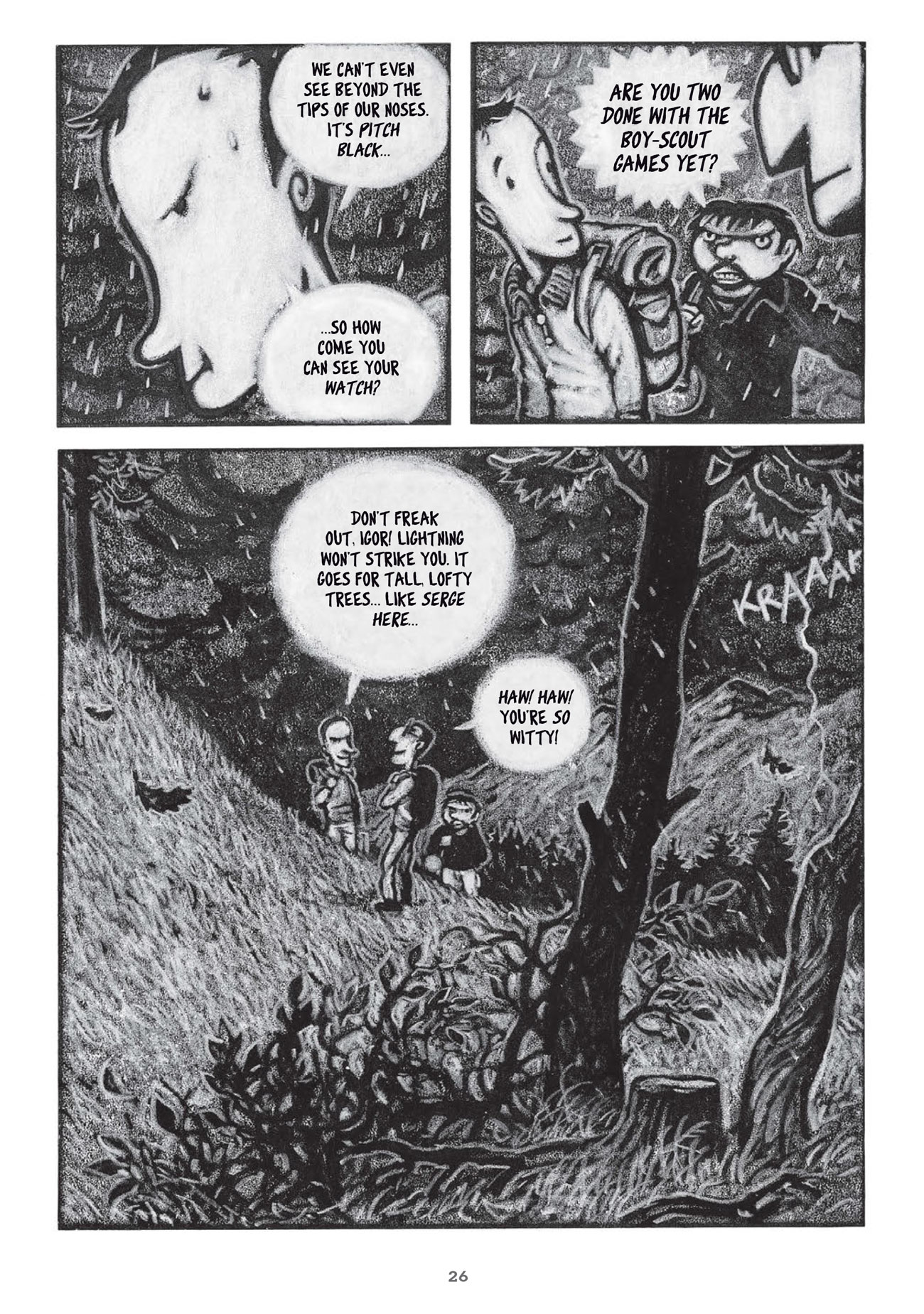 The Retreat graphic novel review
