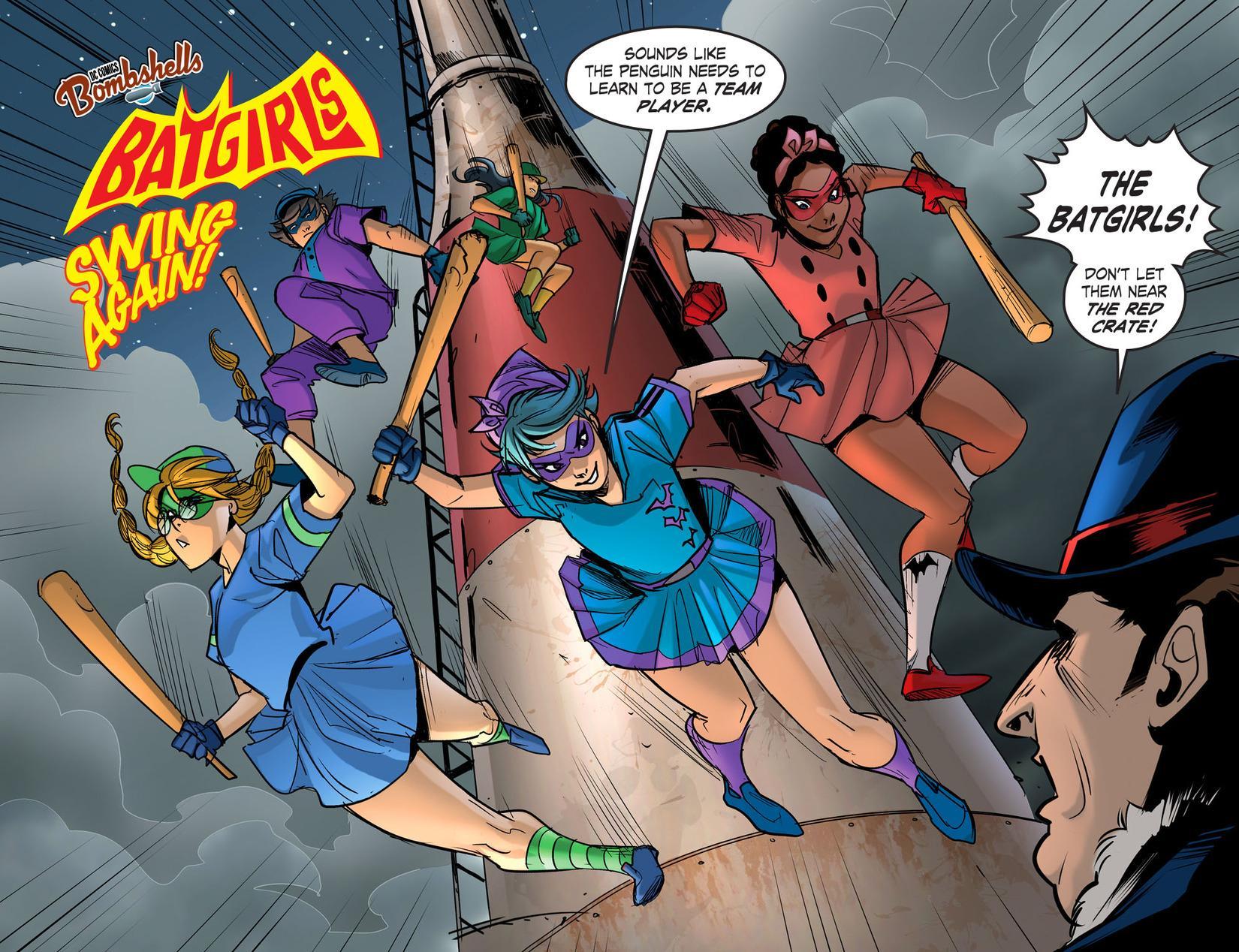 DC Comics Bombshells Uprising review