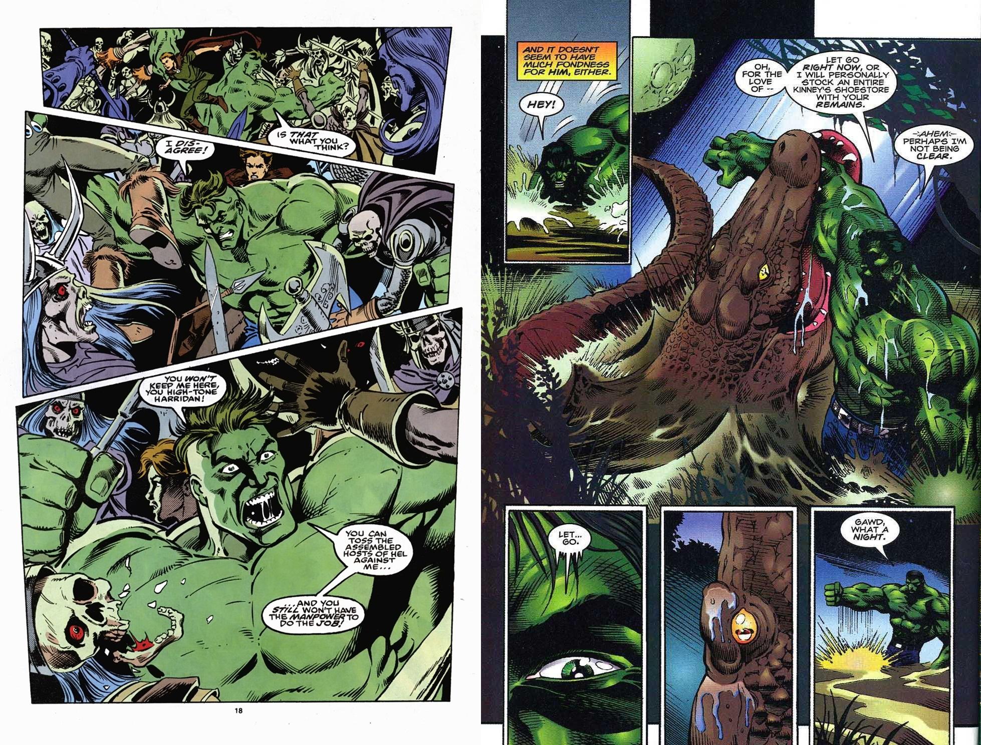 Hulk Fall of the Pantheon review