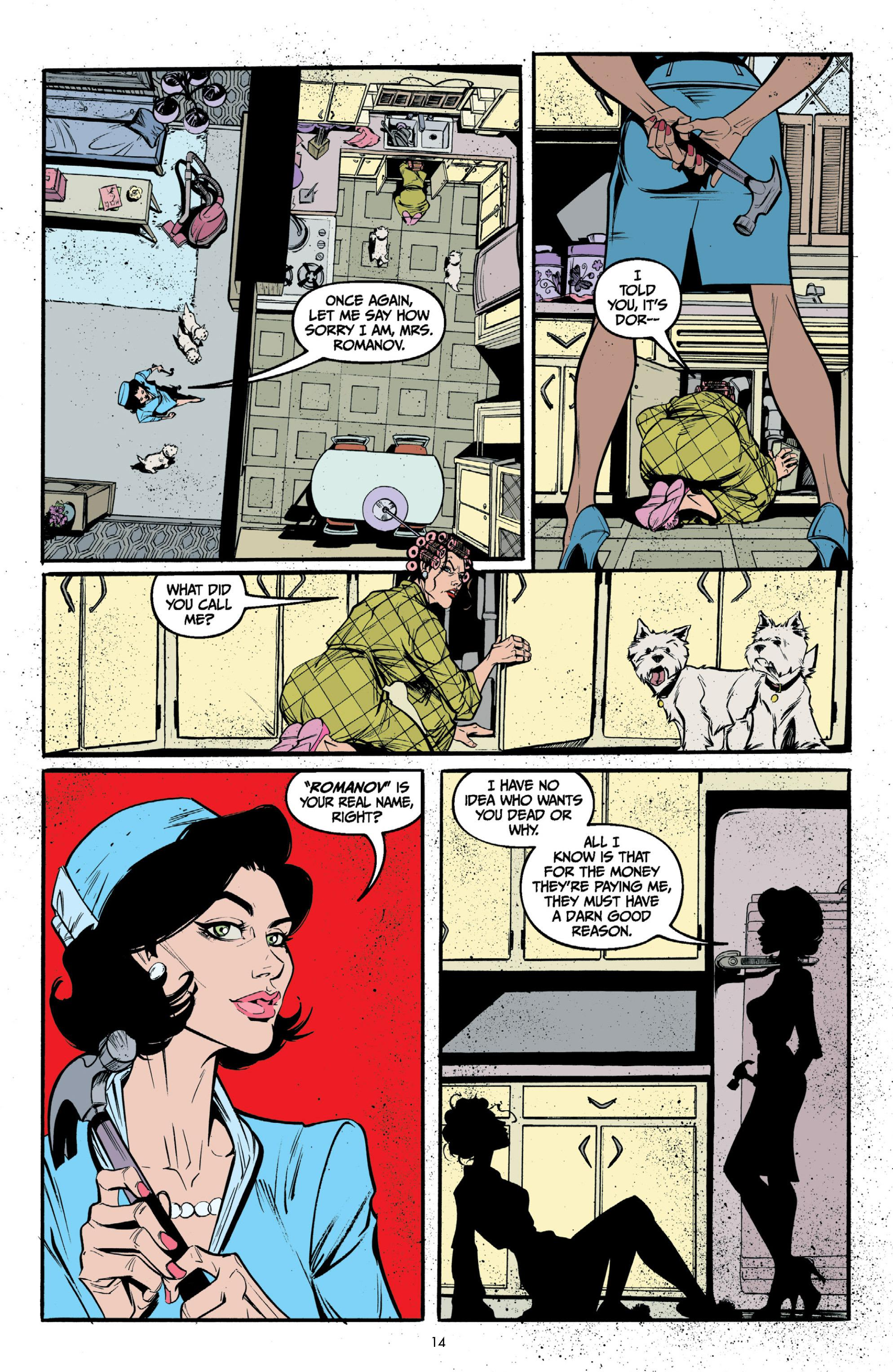 Lady Killer graphic novel review