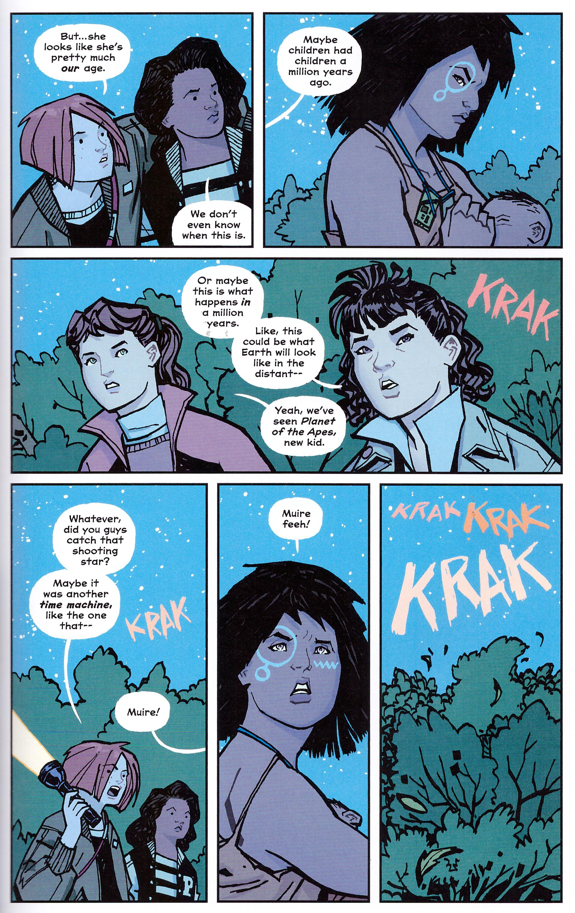 Paper Girls 3 review