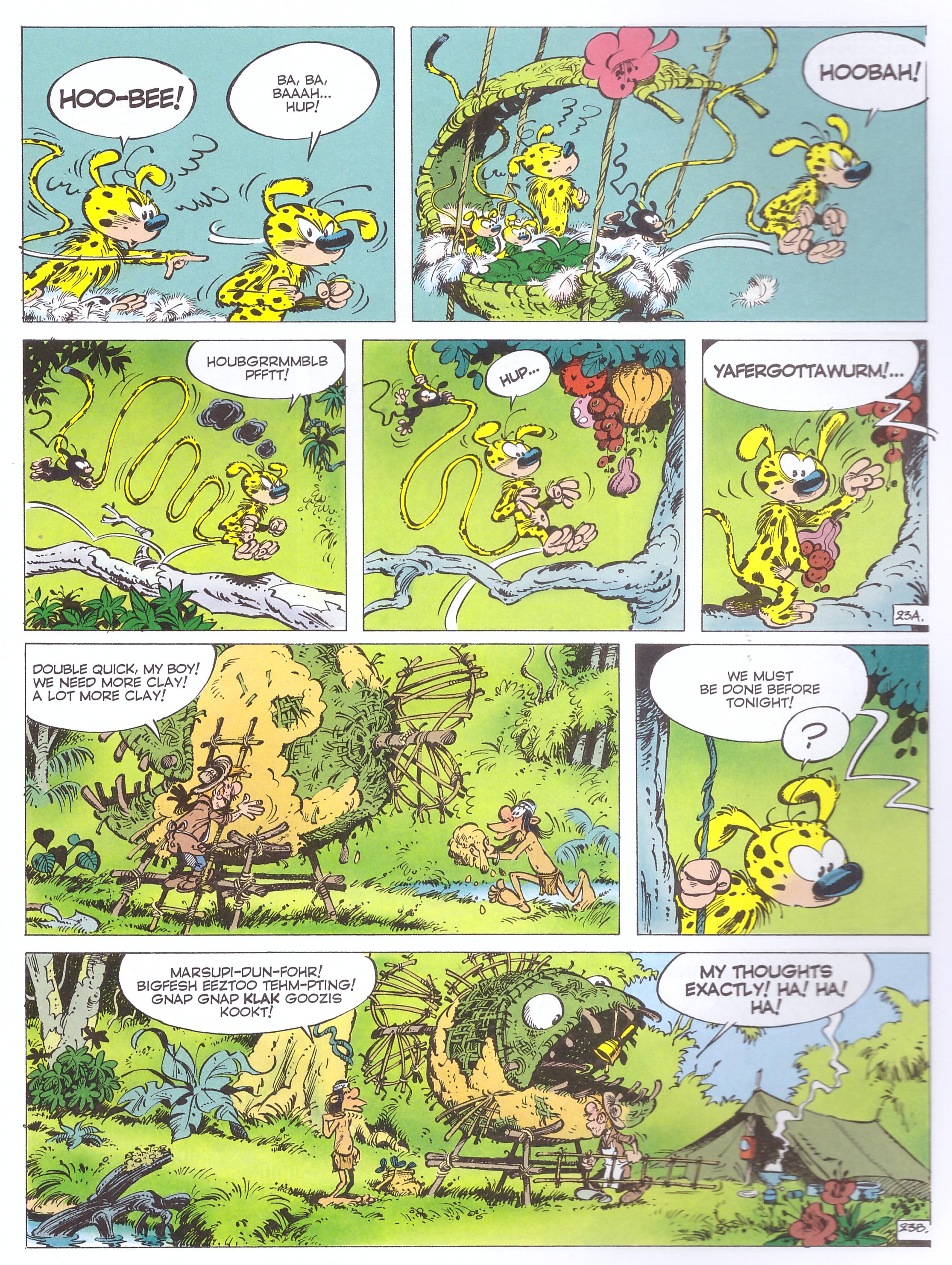 The Marsupilami's Tail review