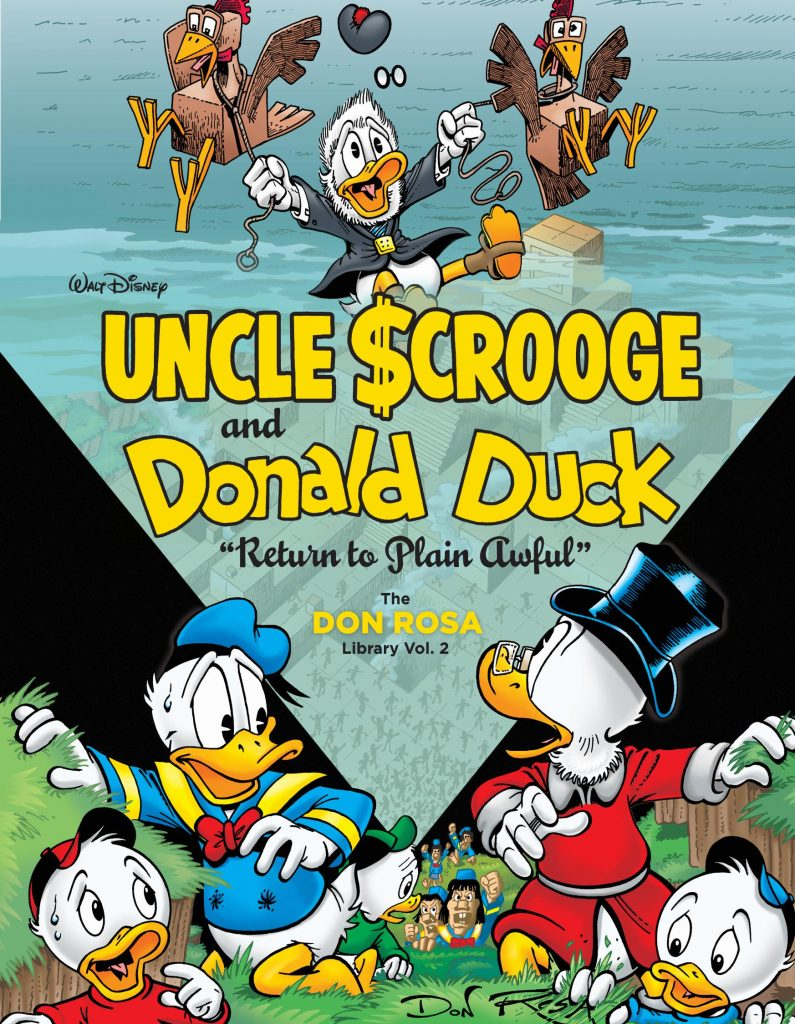 Uncle Scrooge and Donald Duck: Return to Plain Awful – The Don Rosa Library Vol. 2