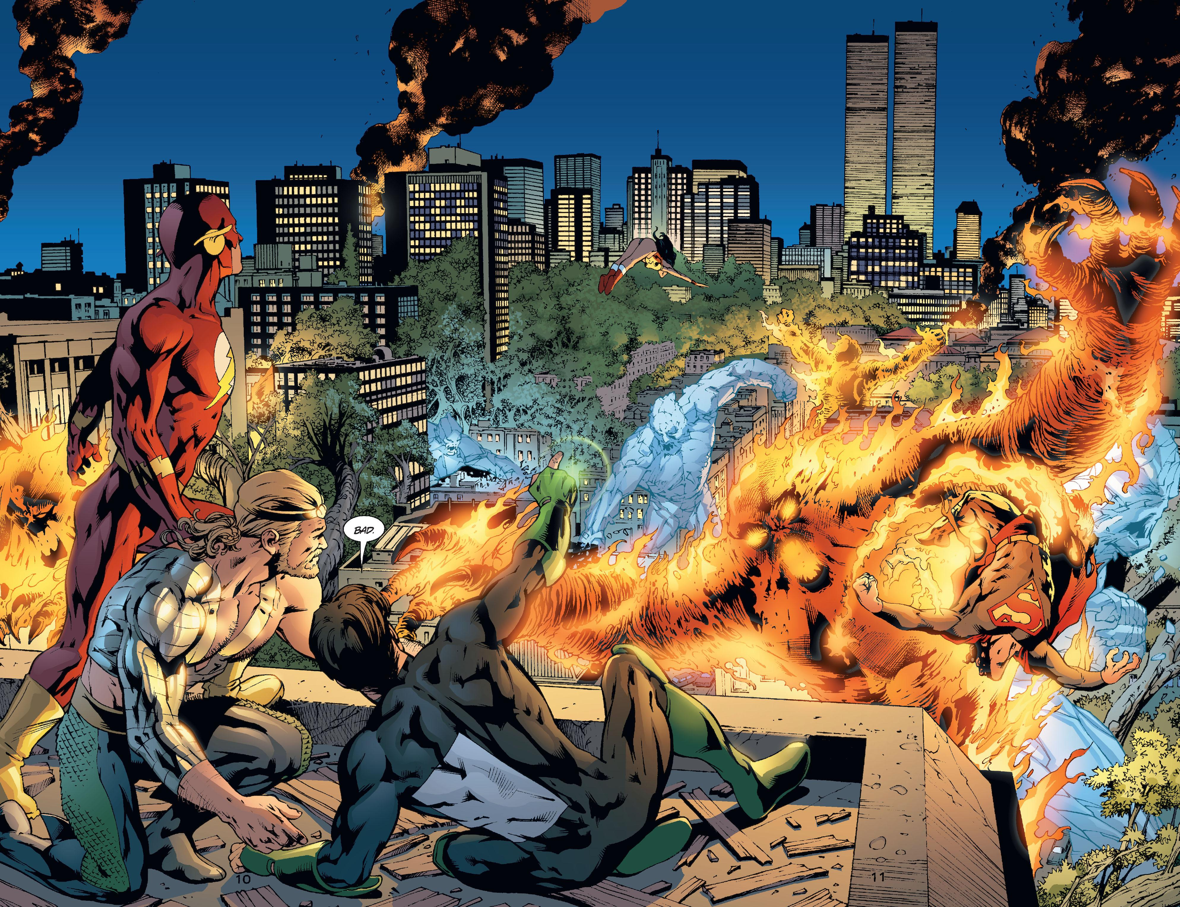 JLA Divided We Fall review