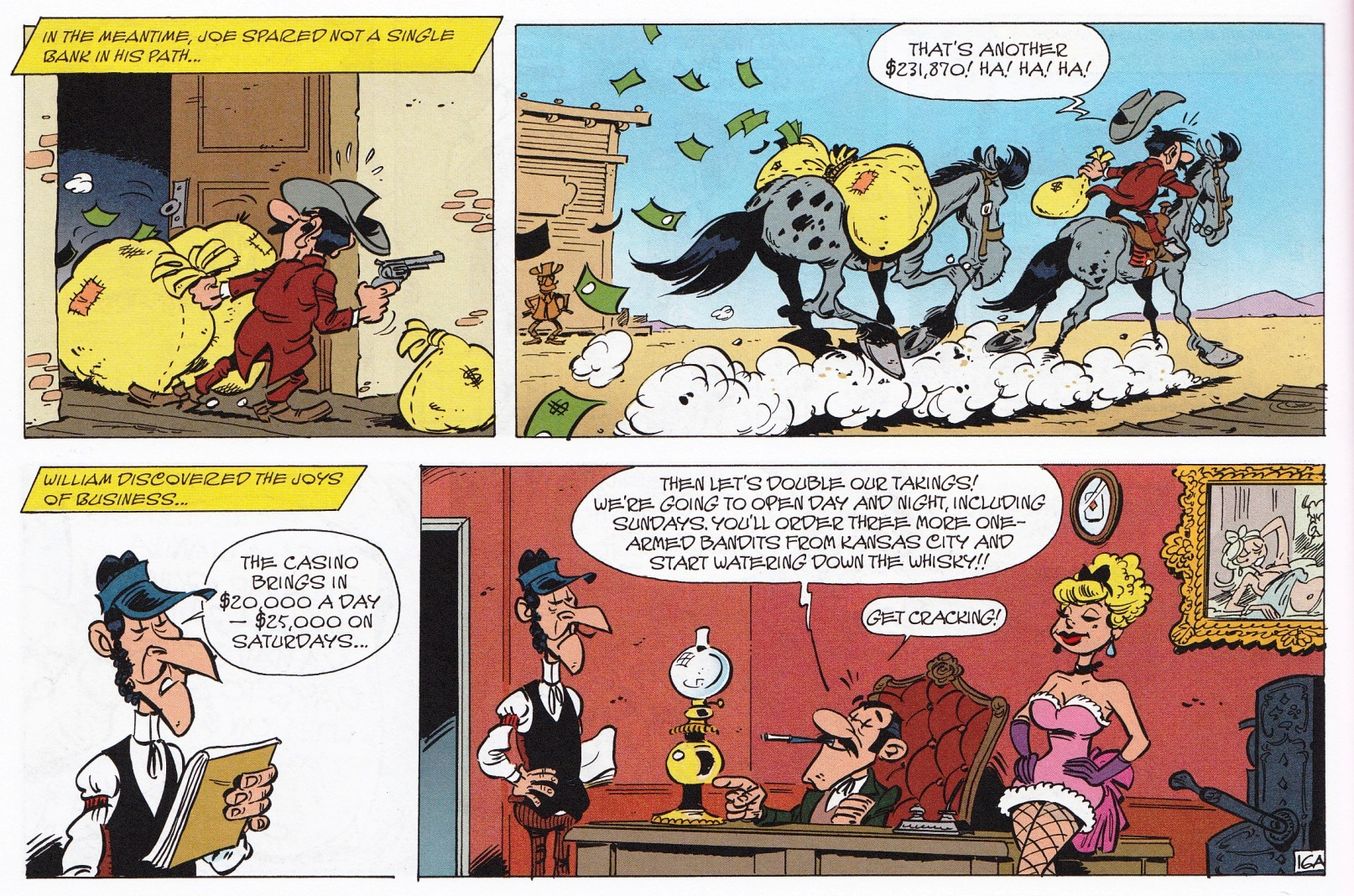 Lucky Luke Lone Riders Review
