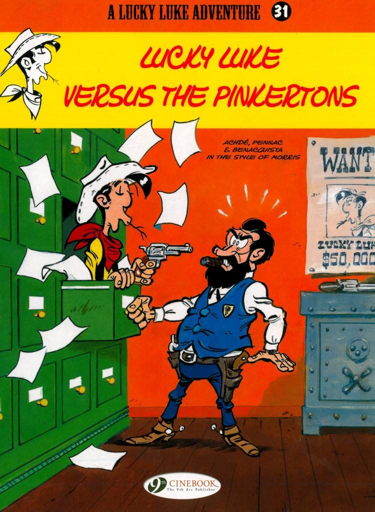 Lucky Luke Versus The Pinkertons