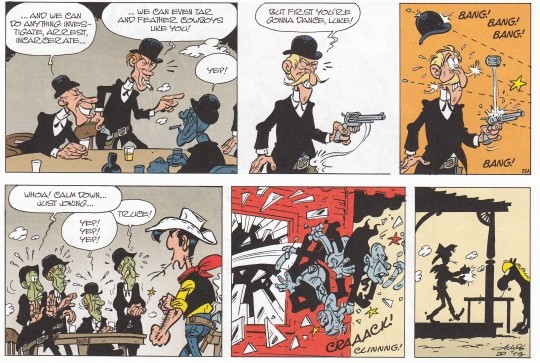 Lucky Luke Versus The Pinkertons Review