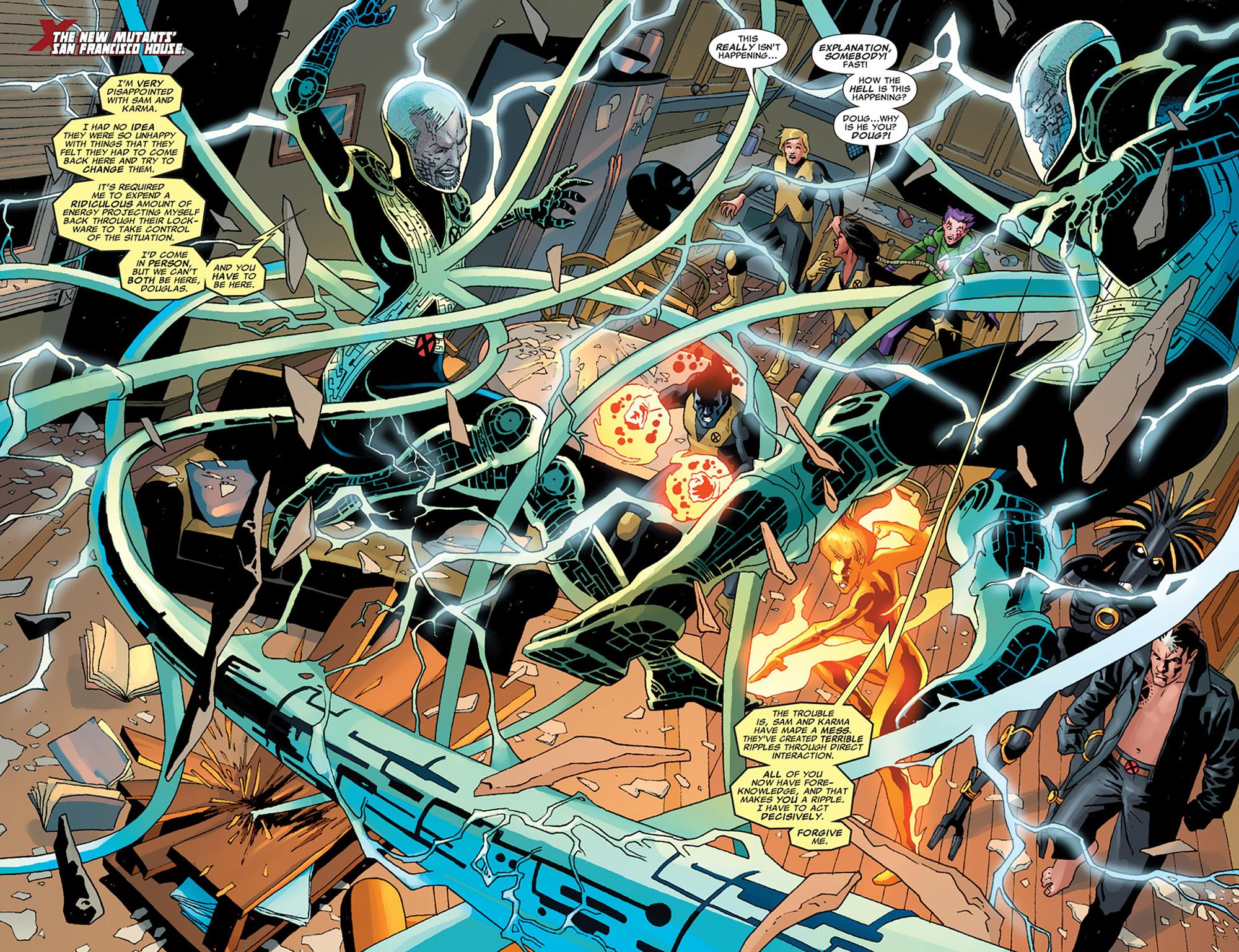 New Mutants Fight The Future review