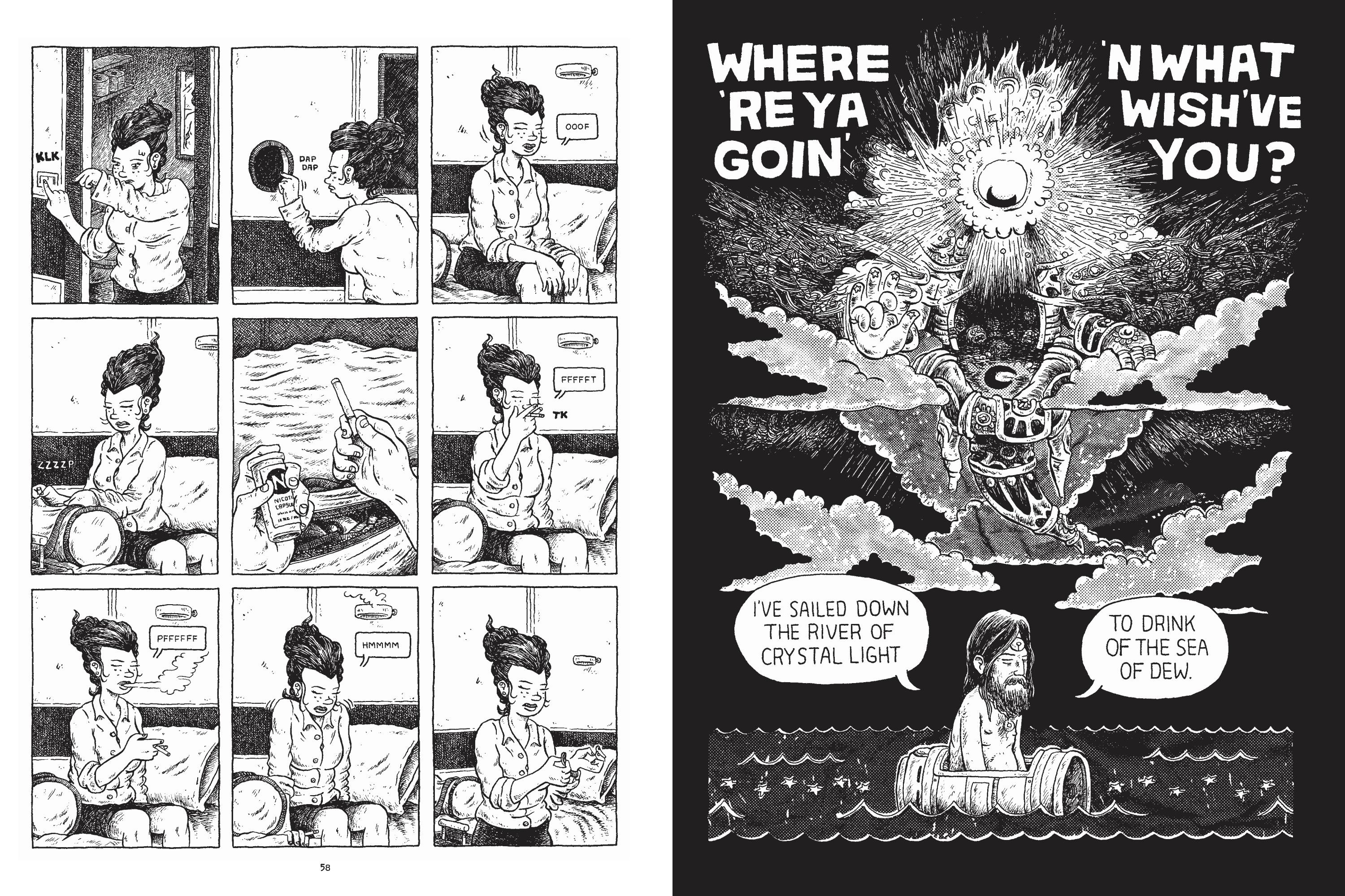 Nod Away graphic novel review