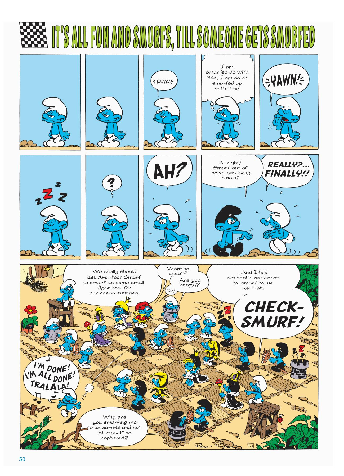Smurfs Anthology 5 review