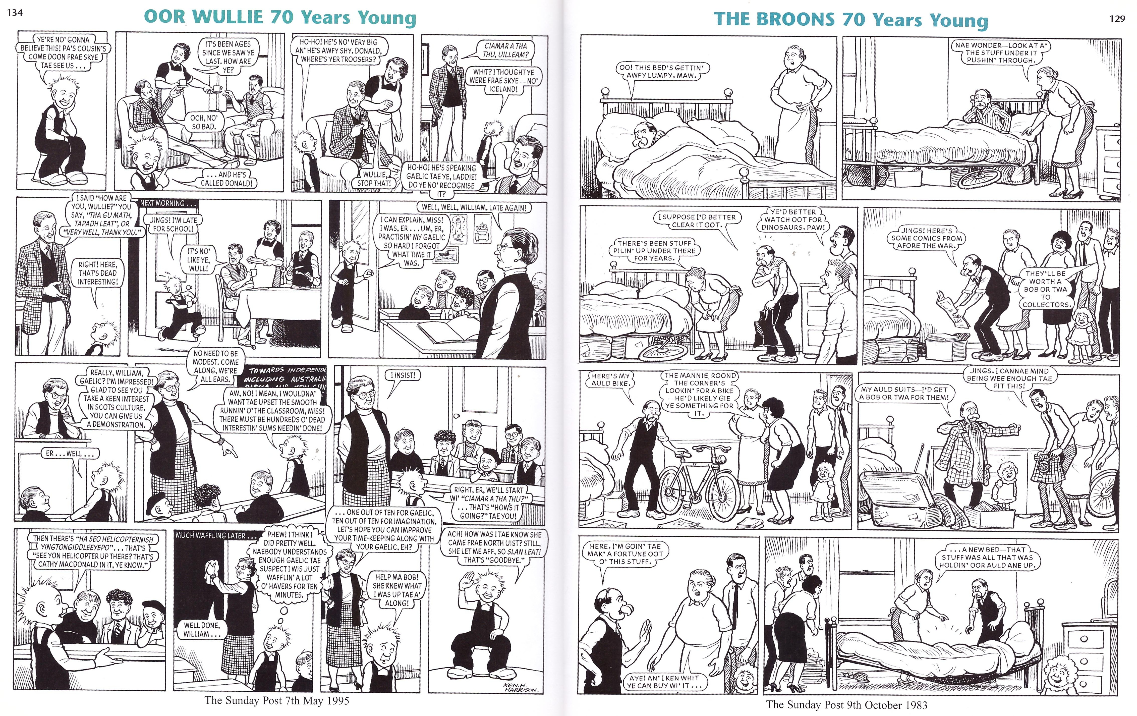 The Broons and Oor Wullie 70 Years Young review