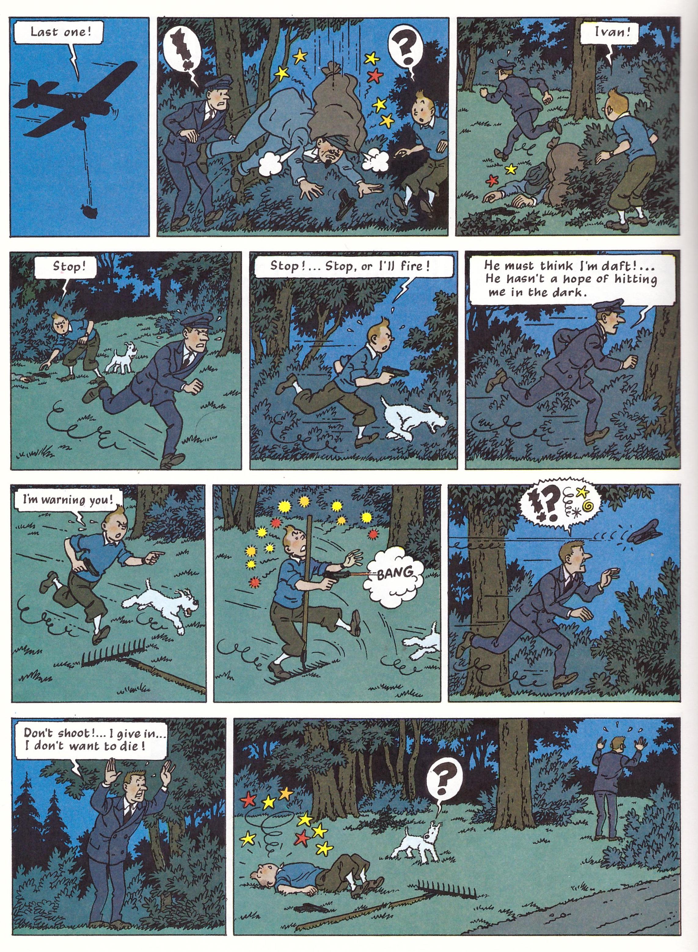 Tintin The Black Island review