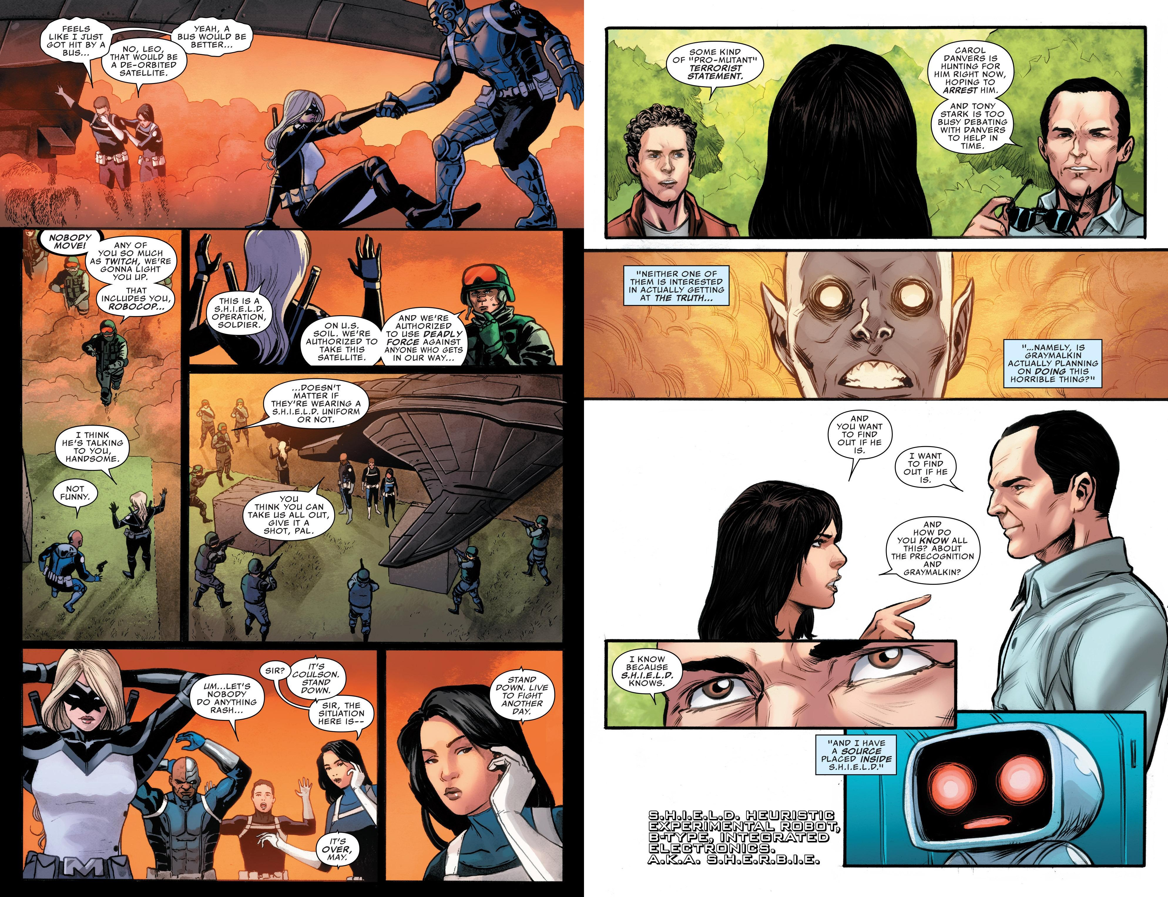 Agents of S.H.I.E.L.D Under New Management review