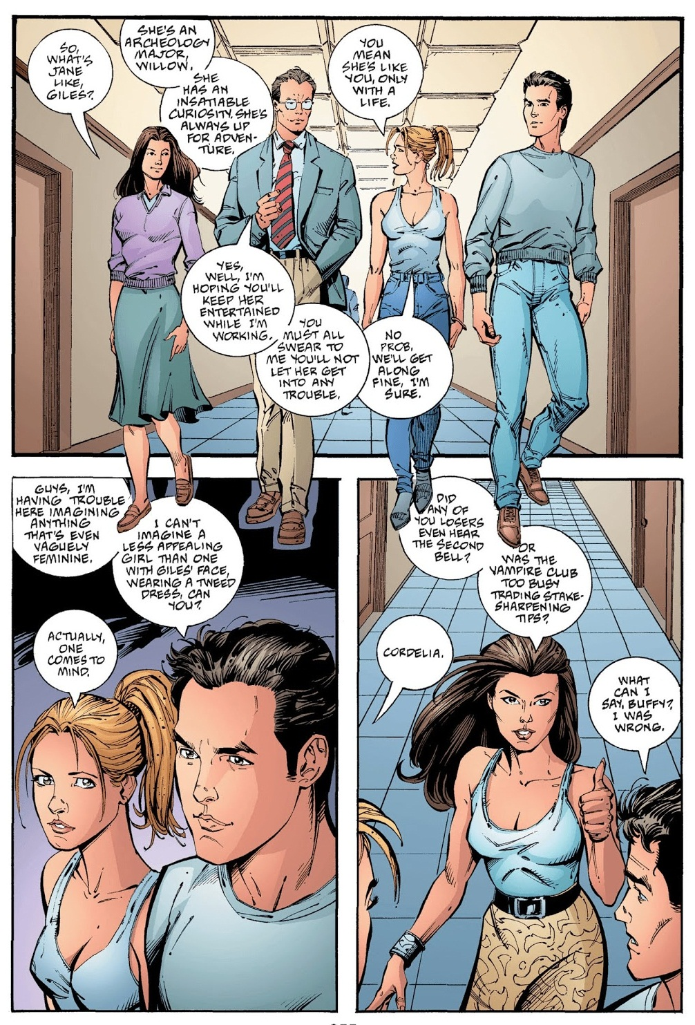Buffy the Vampire Slayer The Dust Waltz review
