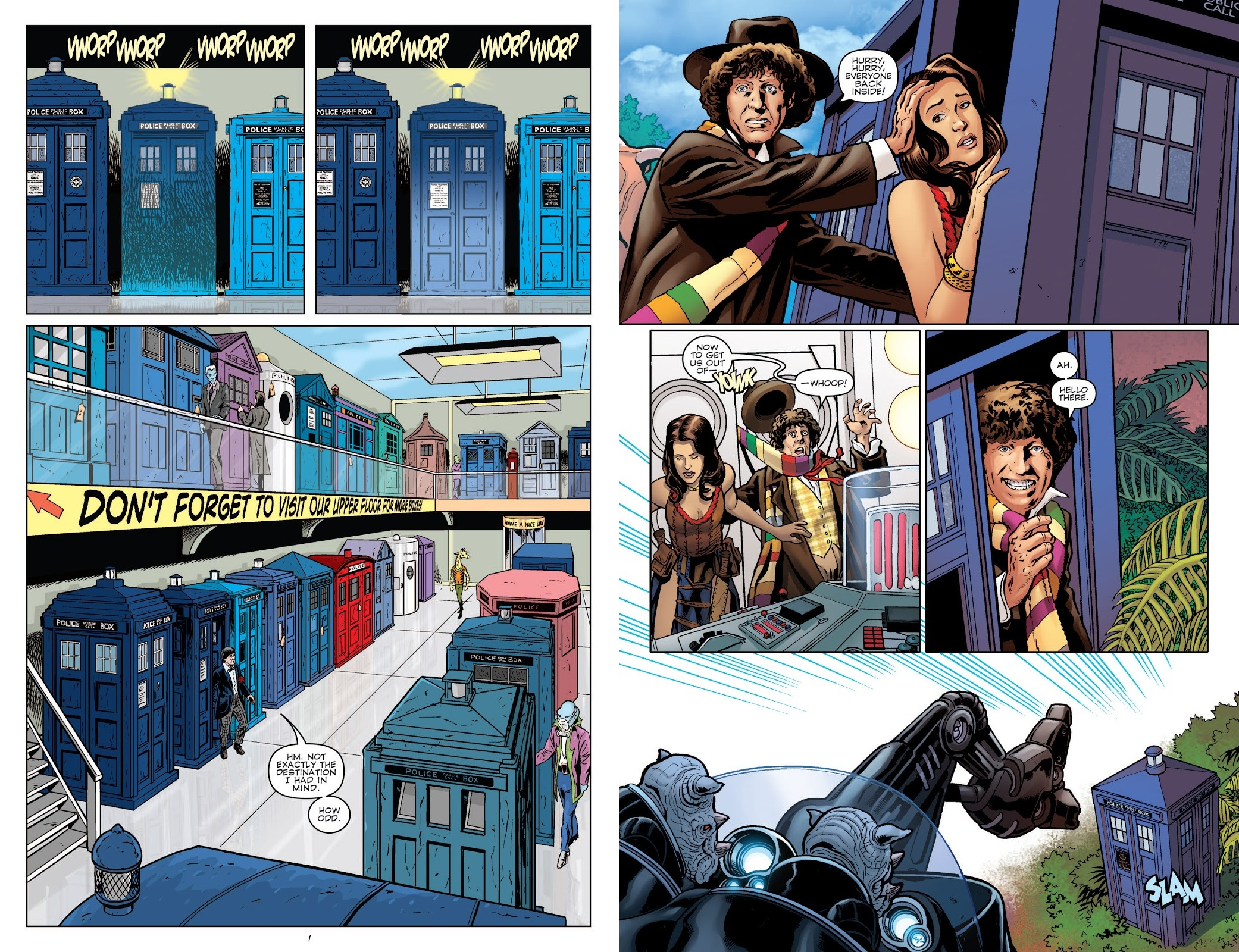 Doctor Who Prisoners of Time Vol 1 review