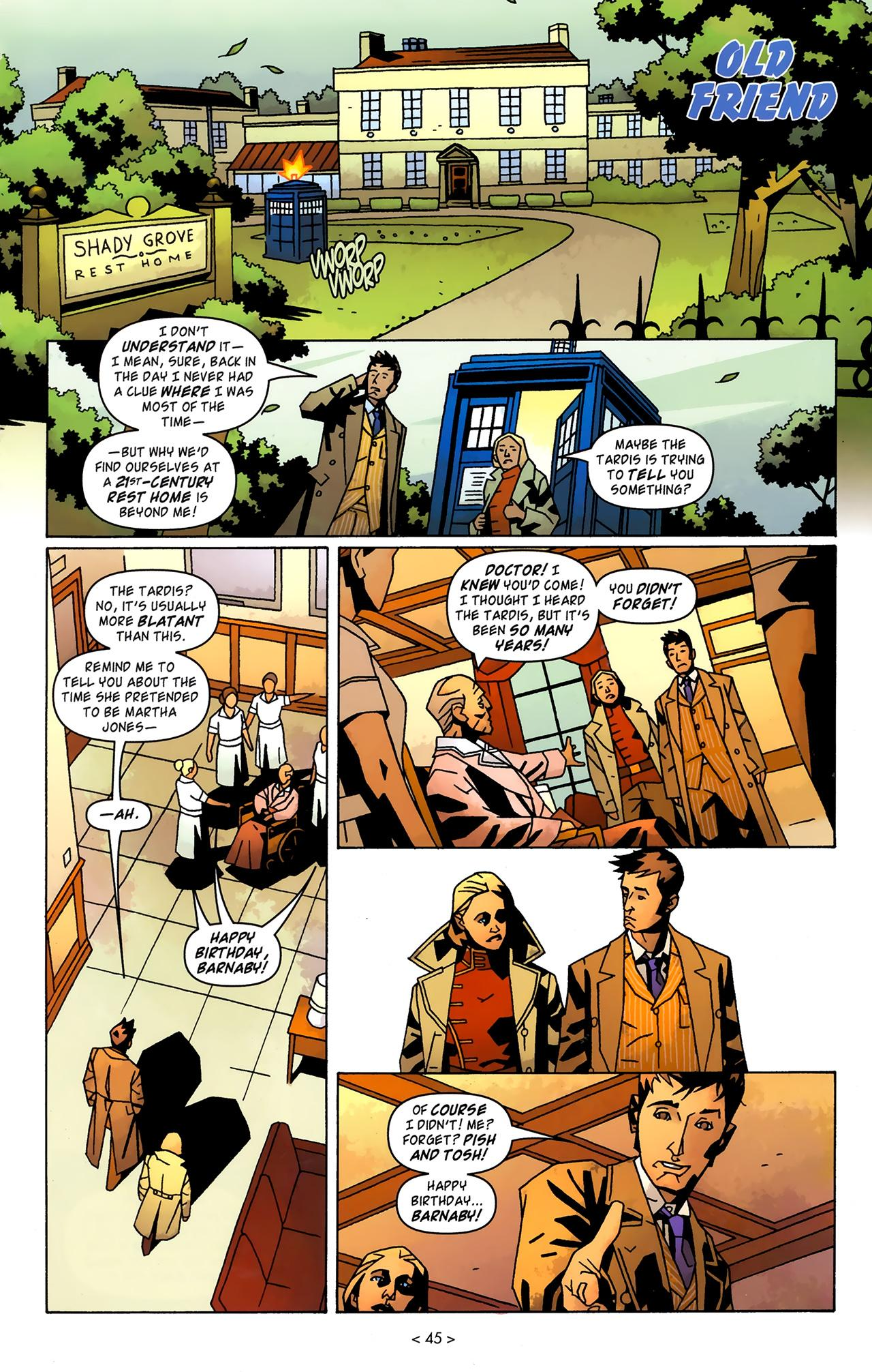 Doctor Who Tenth Doctor Archives 3 review