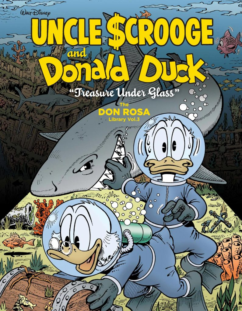 Uncle Scrooge and Donald Duck: Treasure Under Glass – The Don Rosa Library Vol. 3
