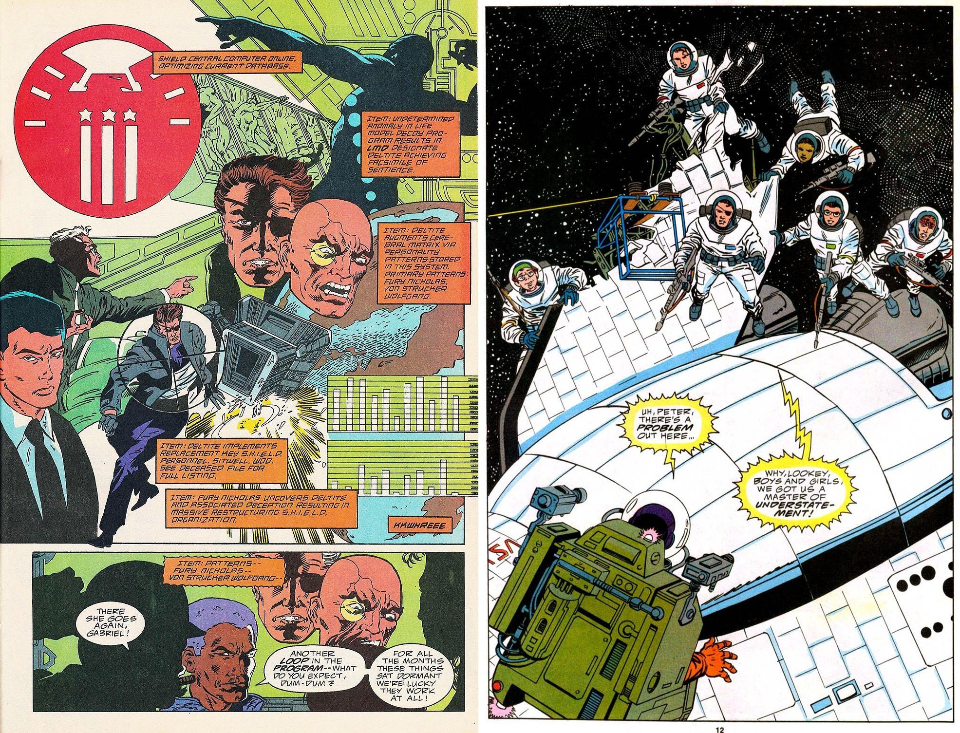 Nick Fury Agent of Shield Classic V2 int