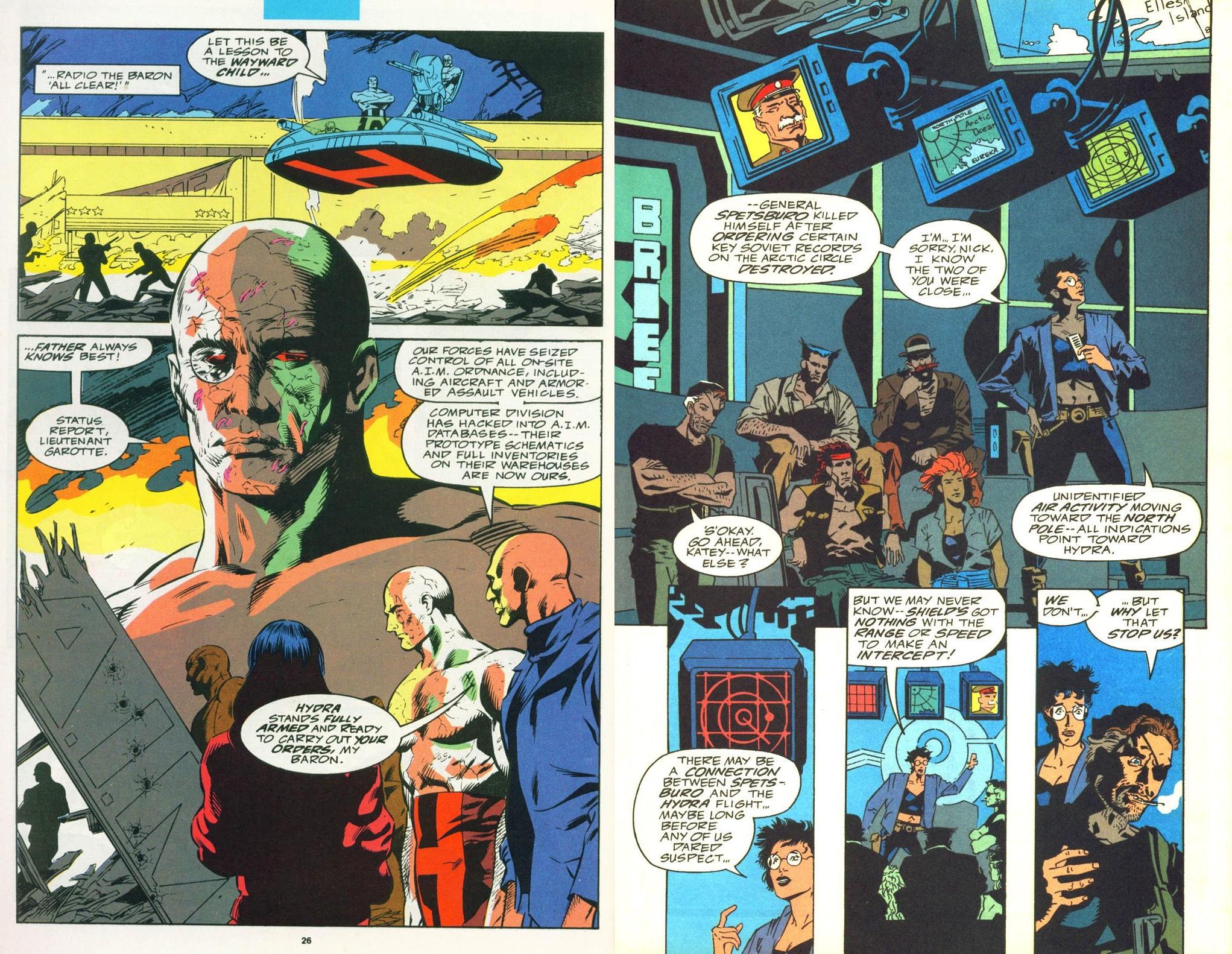 Nick Fury Agent of Shield Classic V3 int