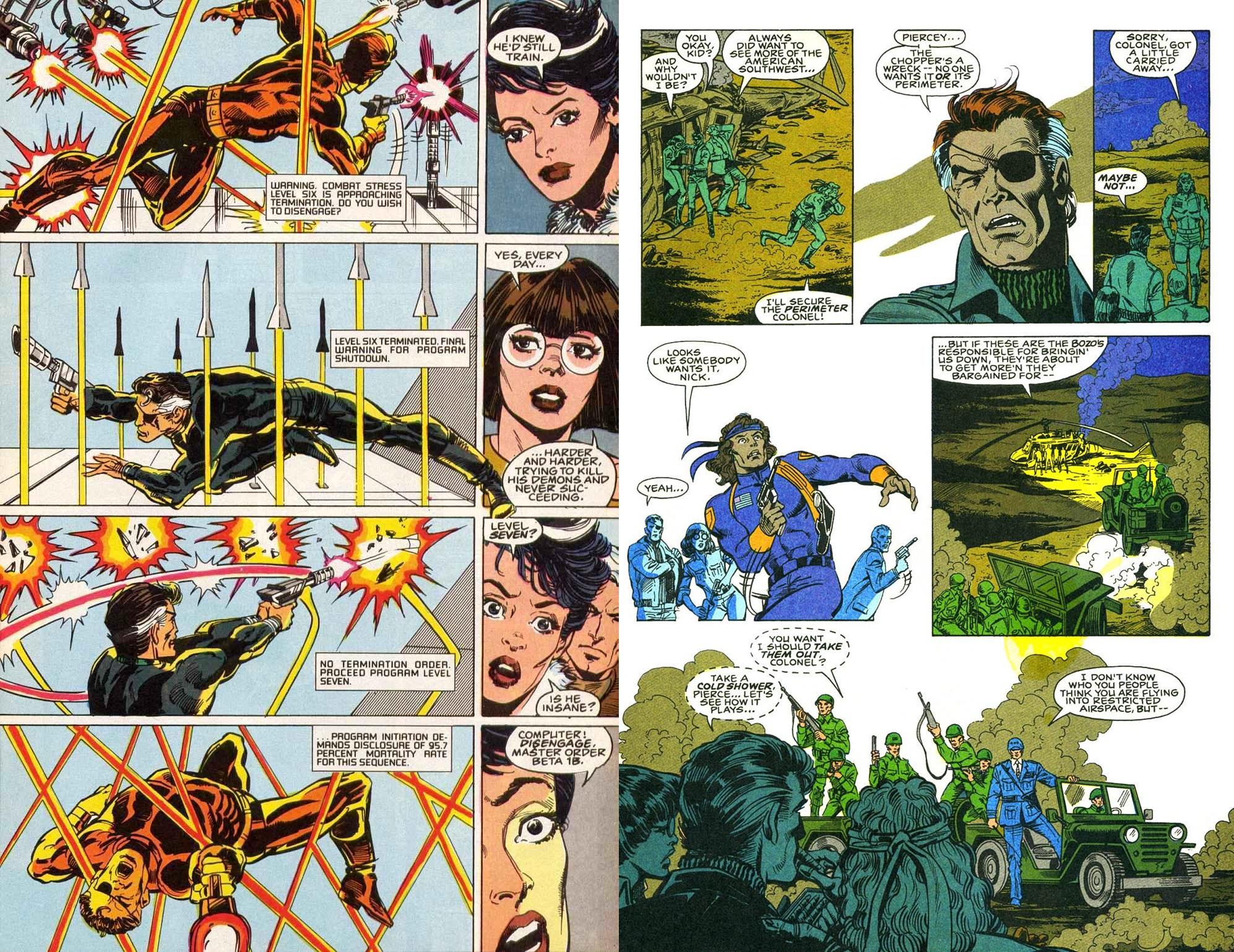 Nick Fury Agent of Shield Classic V1 int