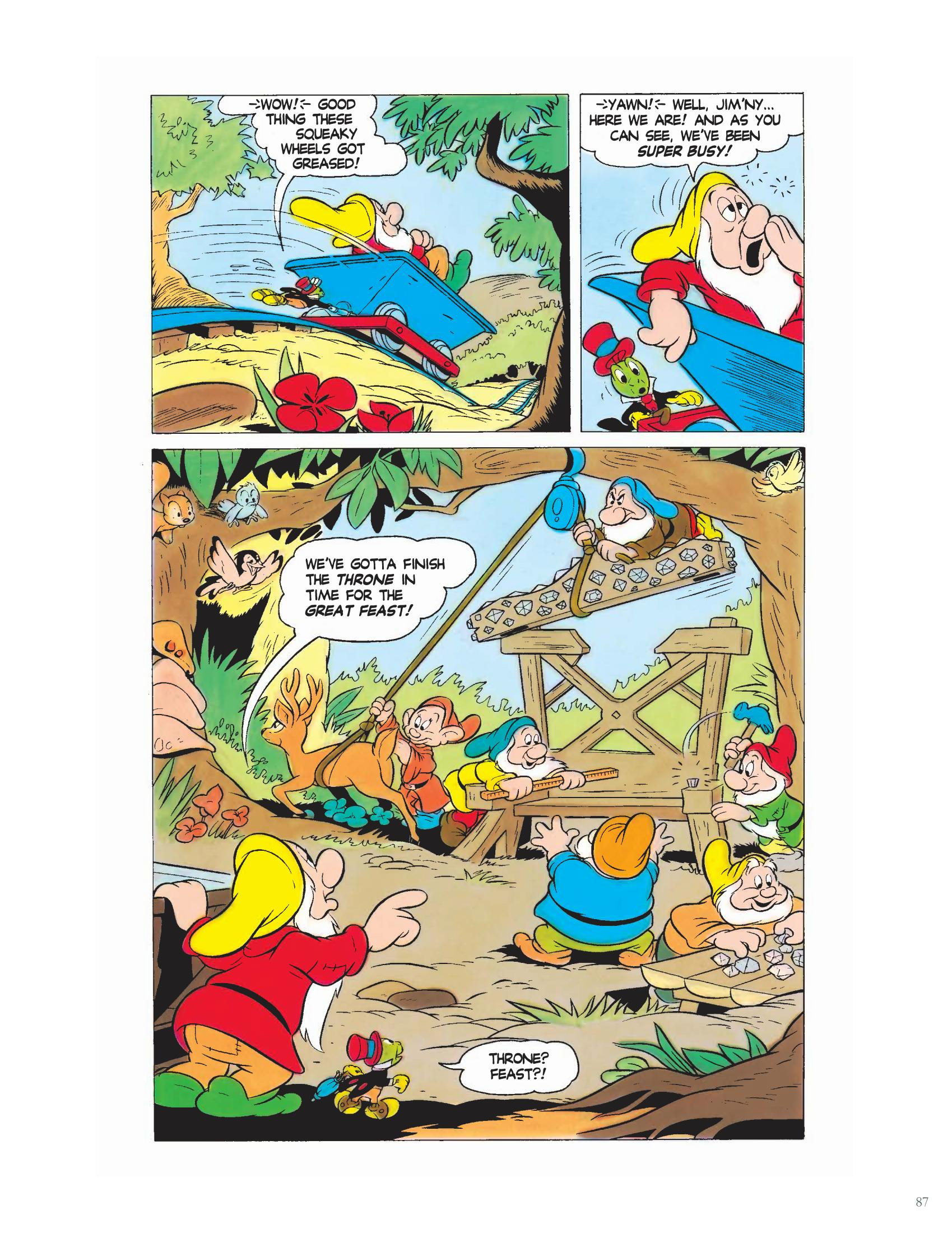 The Return of Snow White and the Seven Dwarfs review