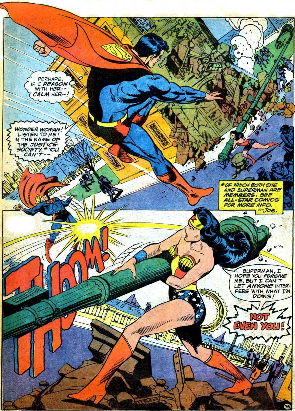 Superman Vs. Wonder Woman review