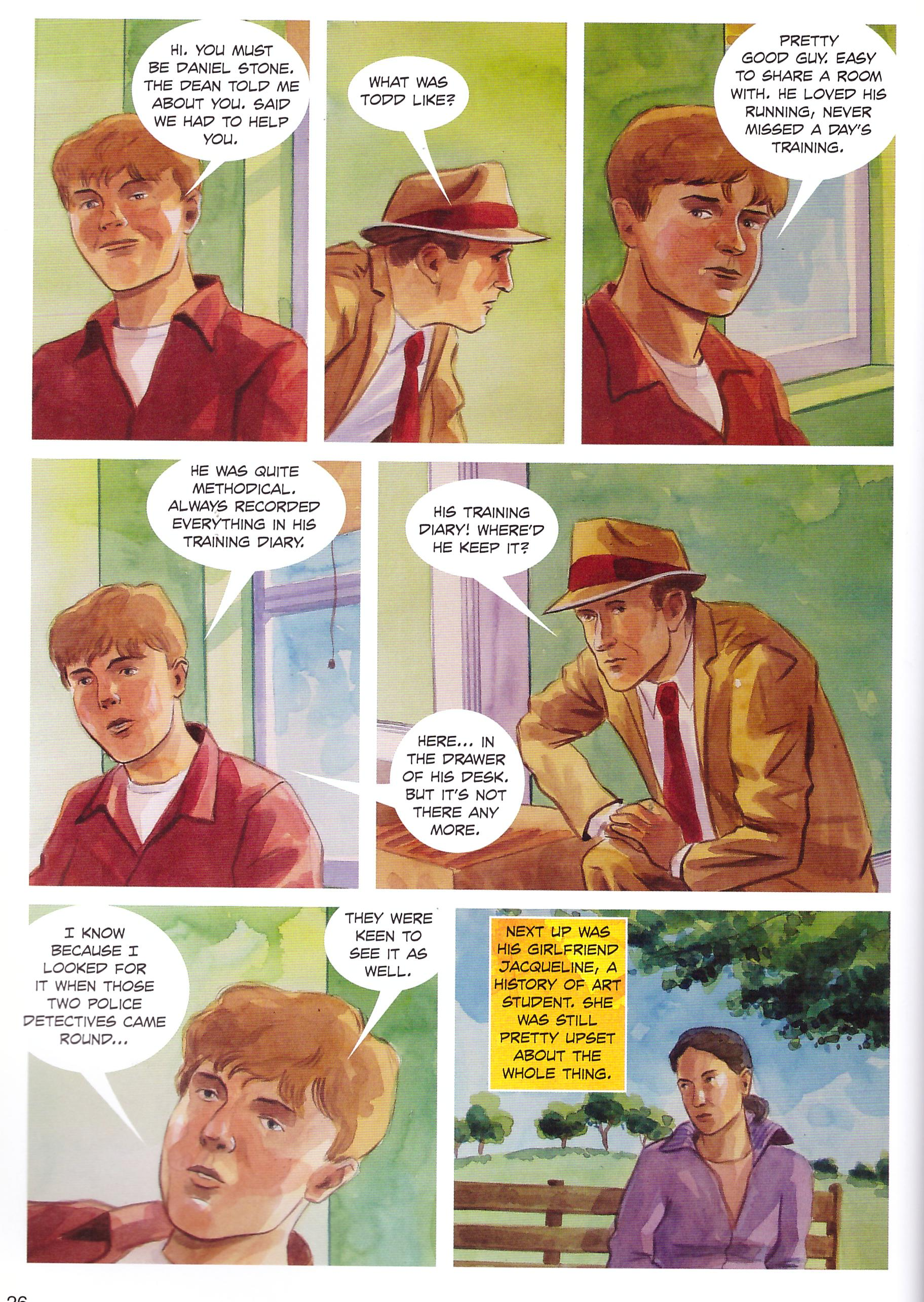 The Murder Mile graphic novel review