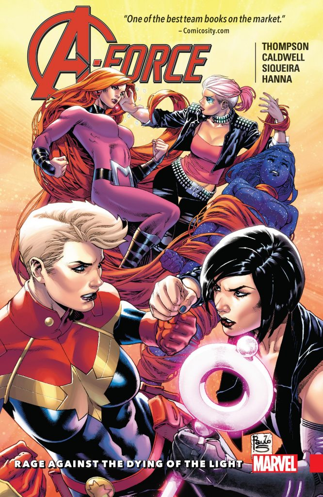 A-Force: Rage Against the Dying of the Light