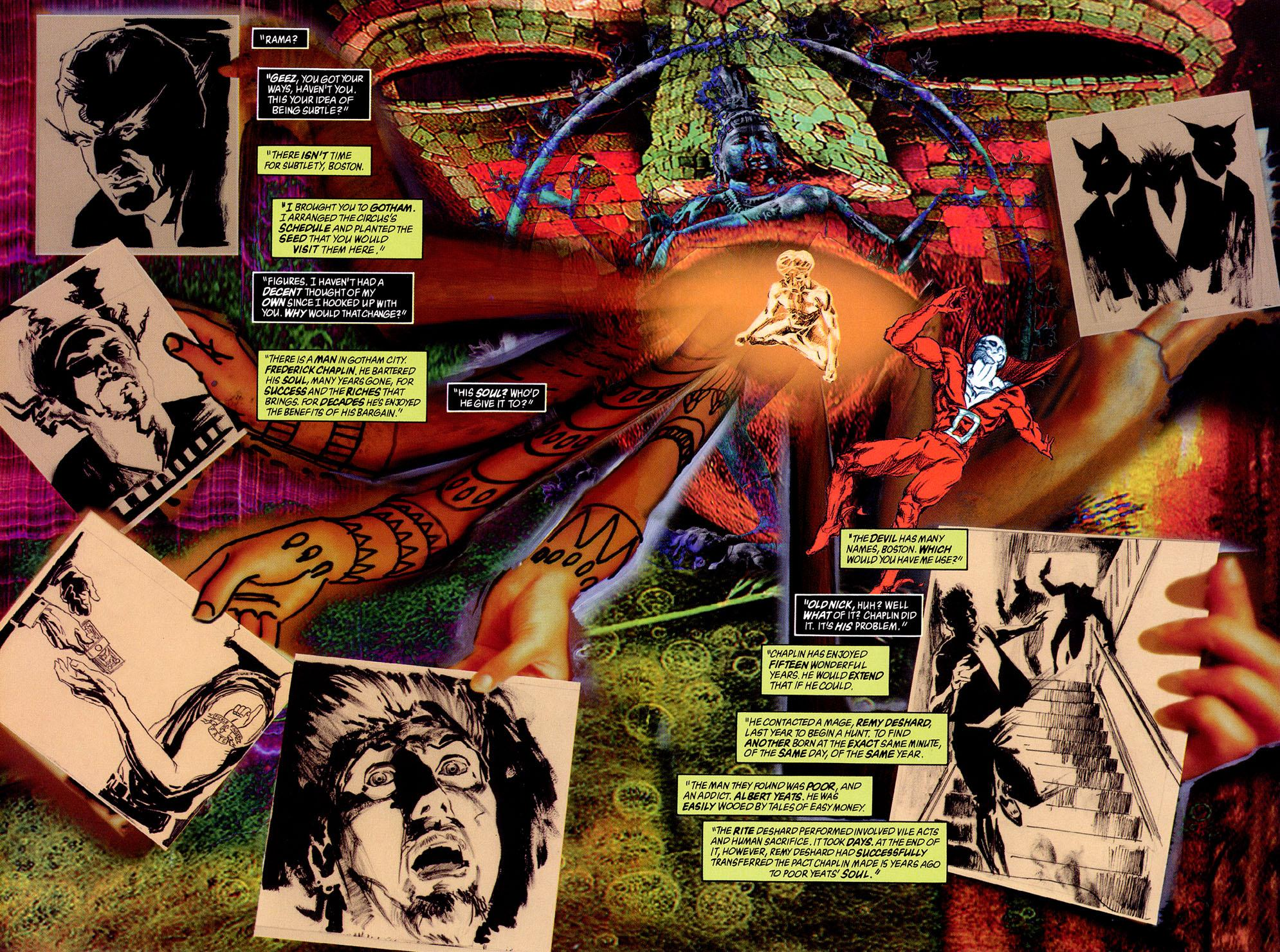 Batman Deadman Death and Glory review